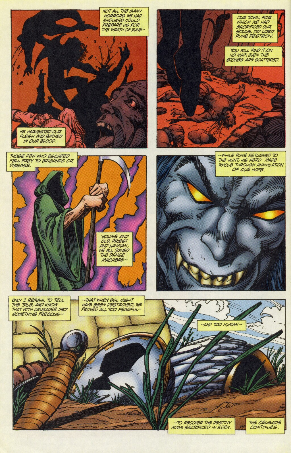 Read online Rune (1995) comic -  Issue #5 - 21