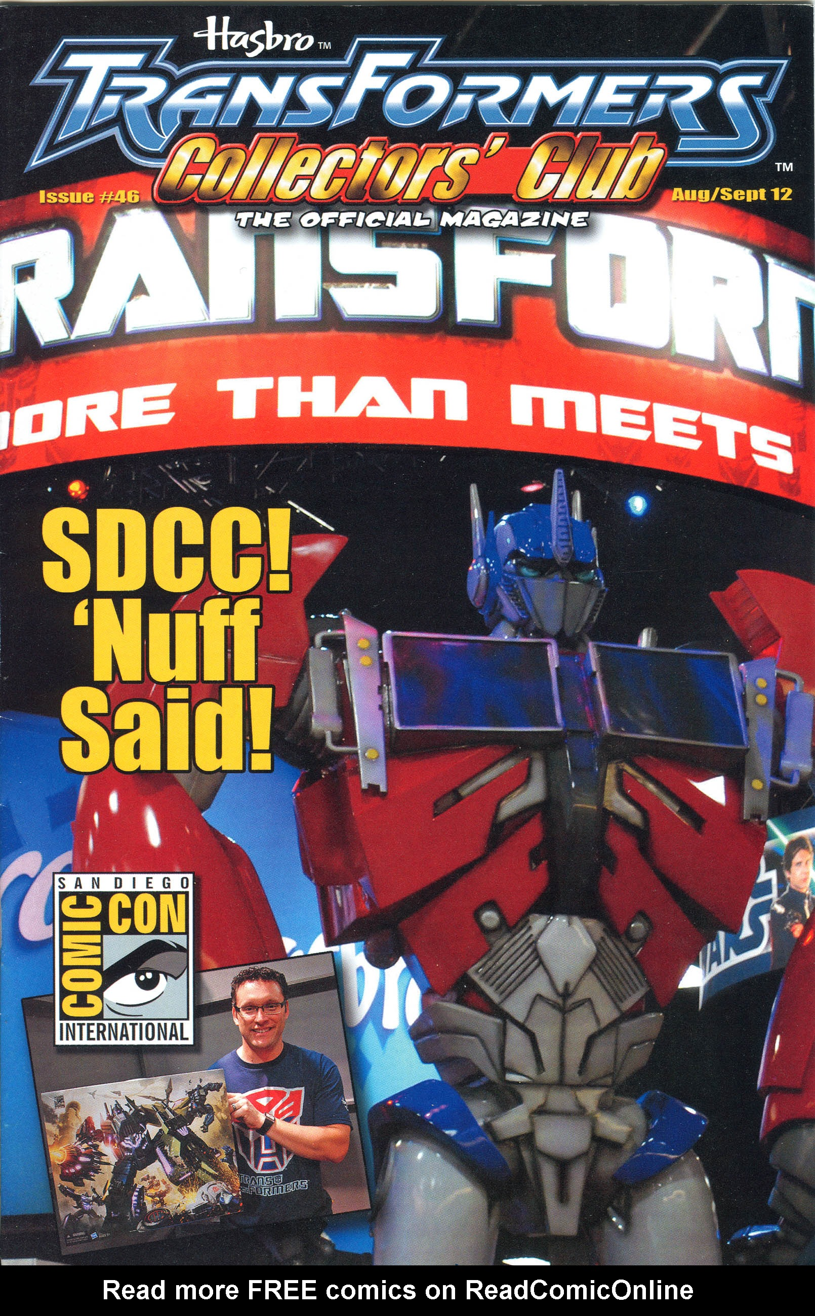 Read online Transformers: Collectors' Club comic -  Issue #46 - 1