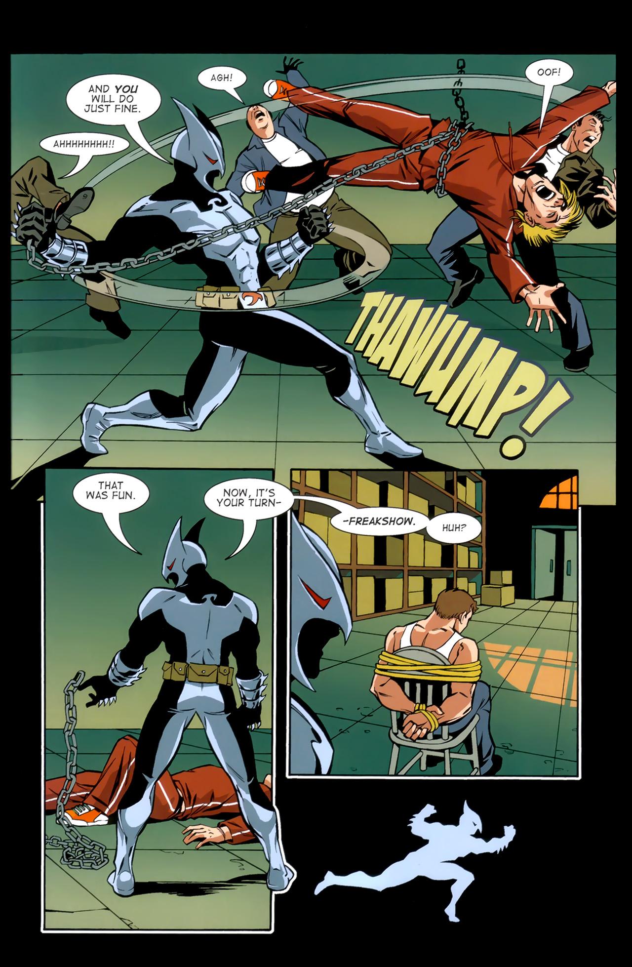 Read online ShadowHawk (2010) comic -  Issue #1 - 29