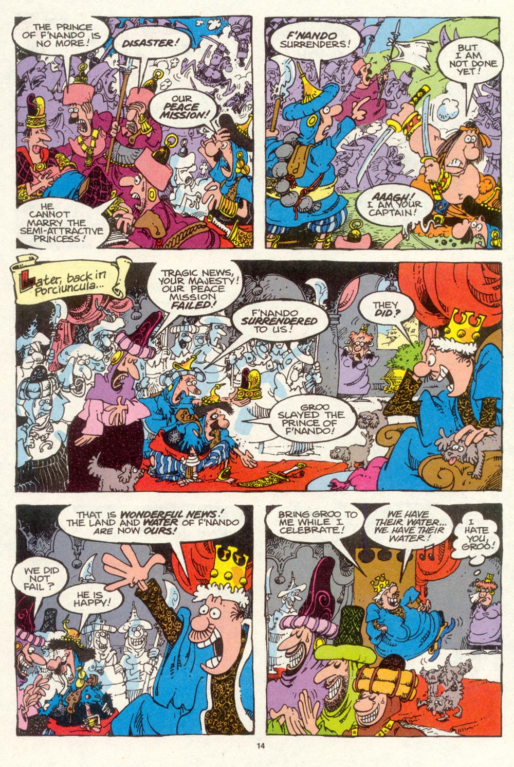 Read online Sergio Aragonés Groo the Wanderer comic -  Issue #94 - 15