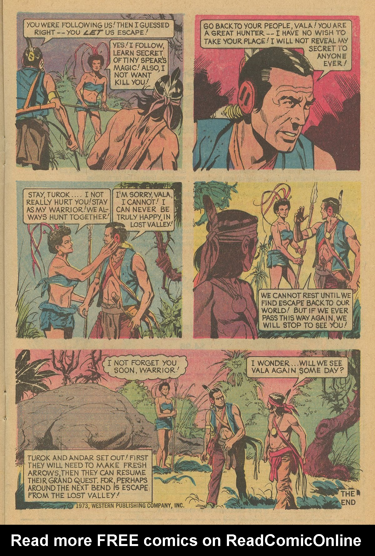 Read online Turok, Son of Stone comic -  Issue #125 - 17