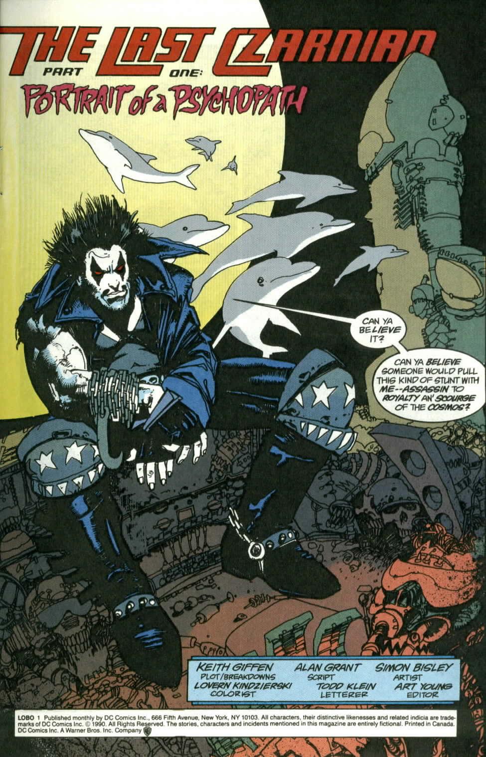 Read online Lobo (1990) comic -  Issue #1 - 2