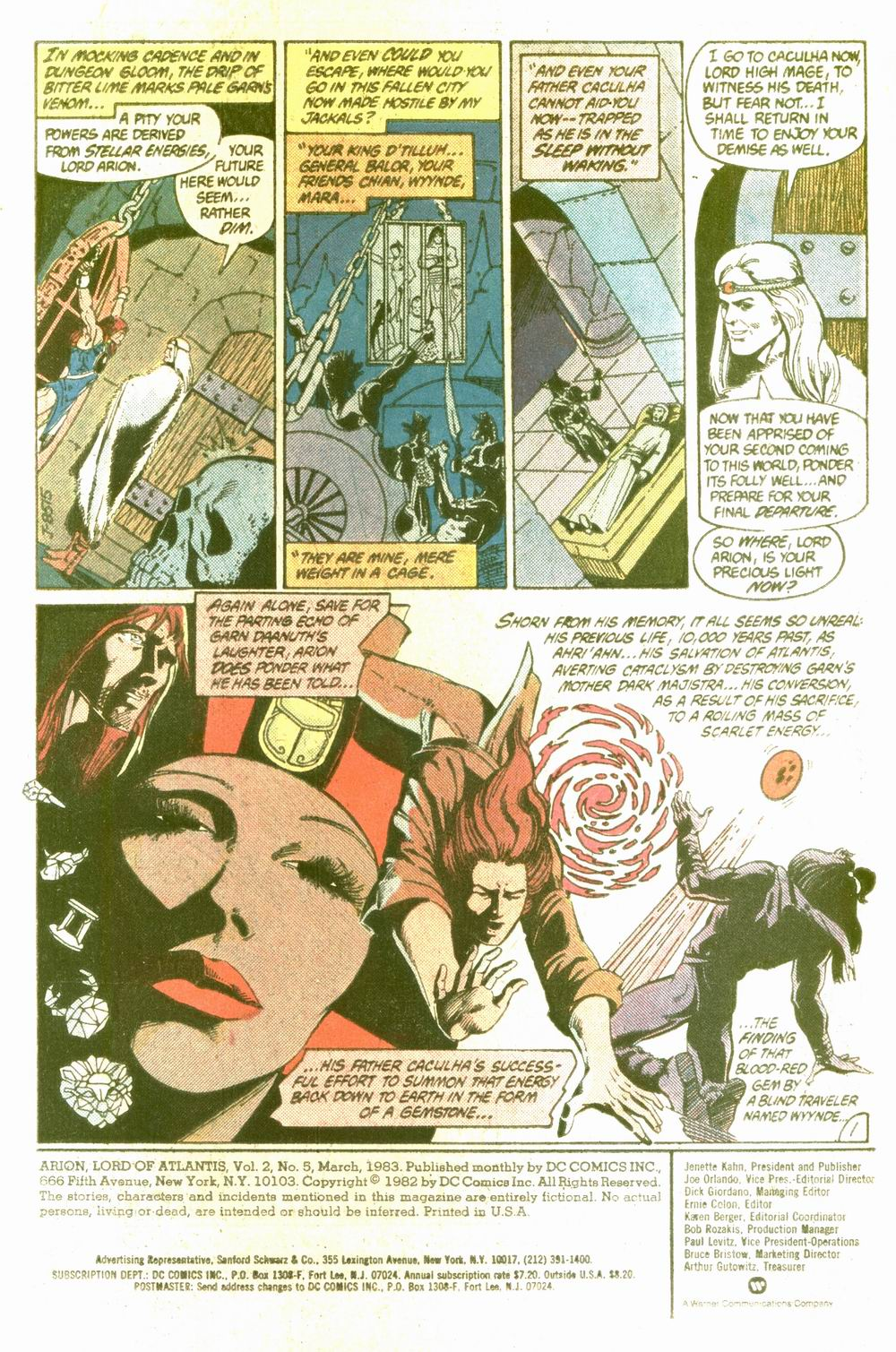 Read online Arion, Lord of Atlantis comic -  Issue #5 - 2