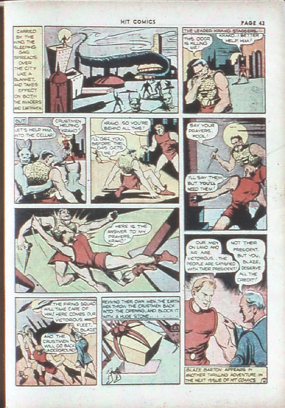Read online Hit Comics comic -  Issue #7 - 45