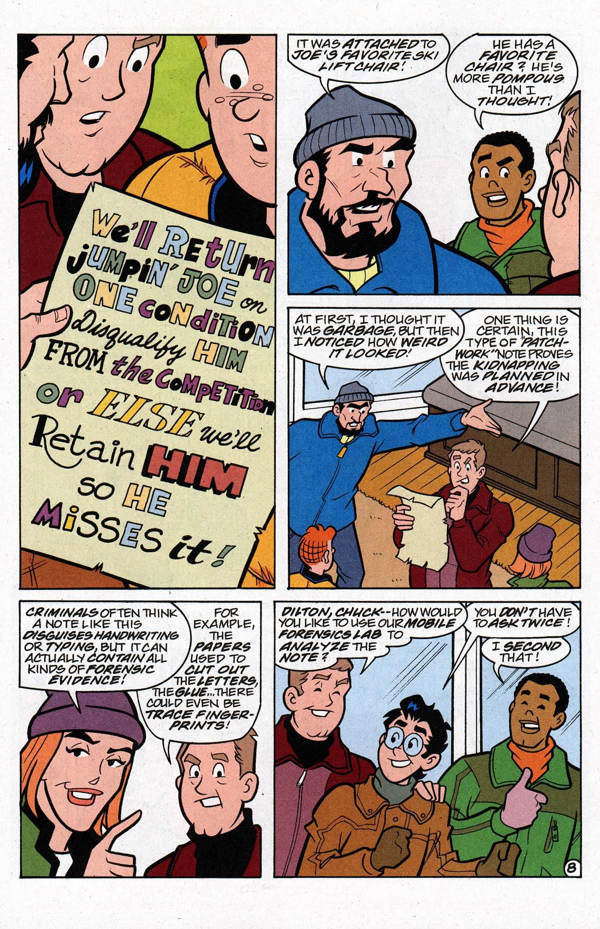 Read online Archie's Weird Mysteries comic - Issue #26