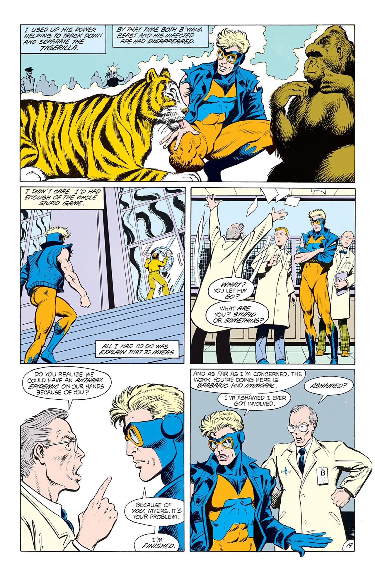 Read online Animal Man (1988) comic -  Issue #4 - 21