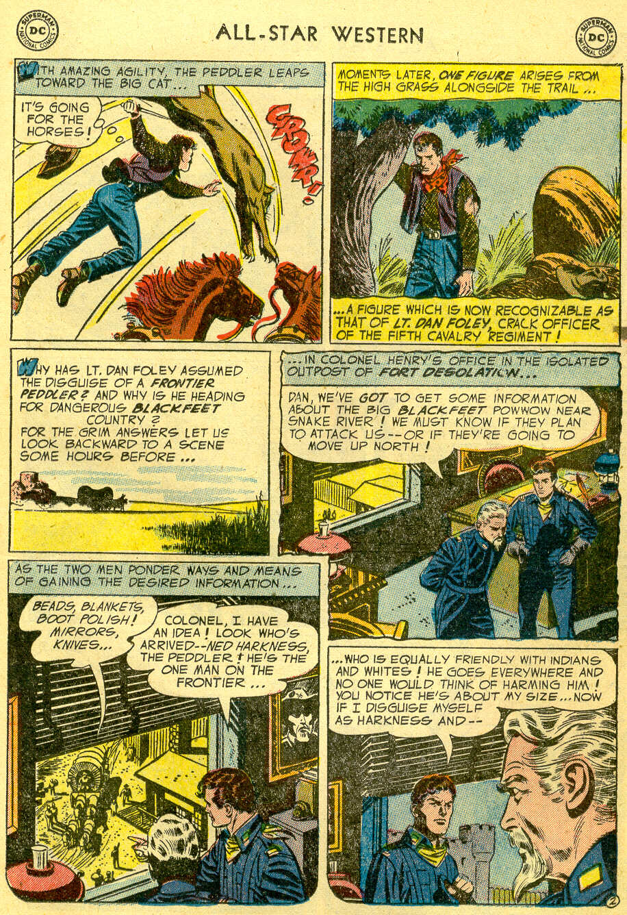 Read online All-Star Western (1951) comic -  Issue #82 - 21