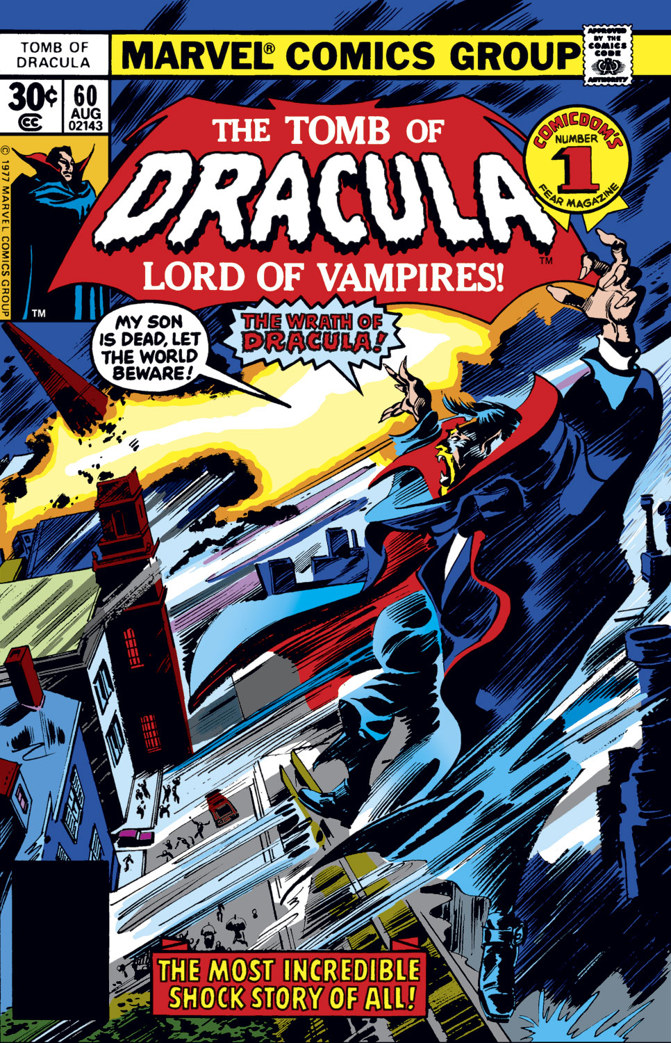 Tomb of Dracula (1972) issue 60 - Page 1