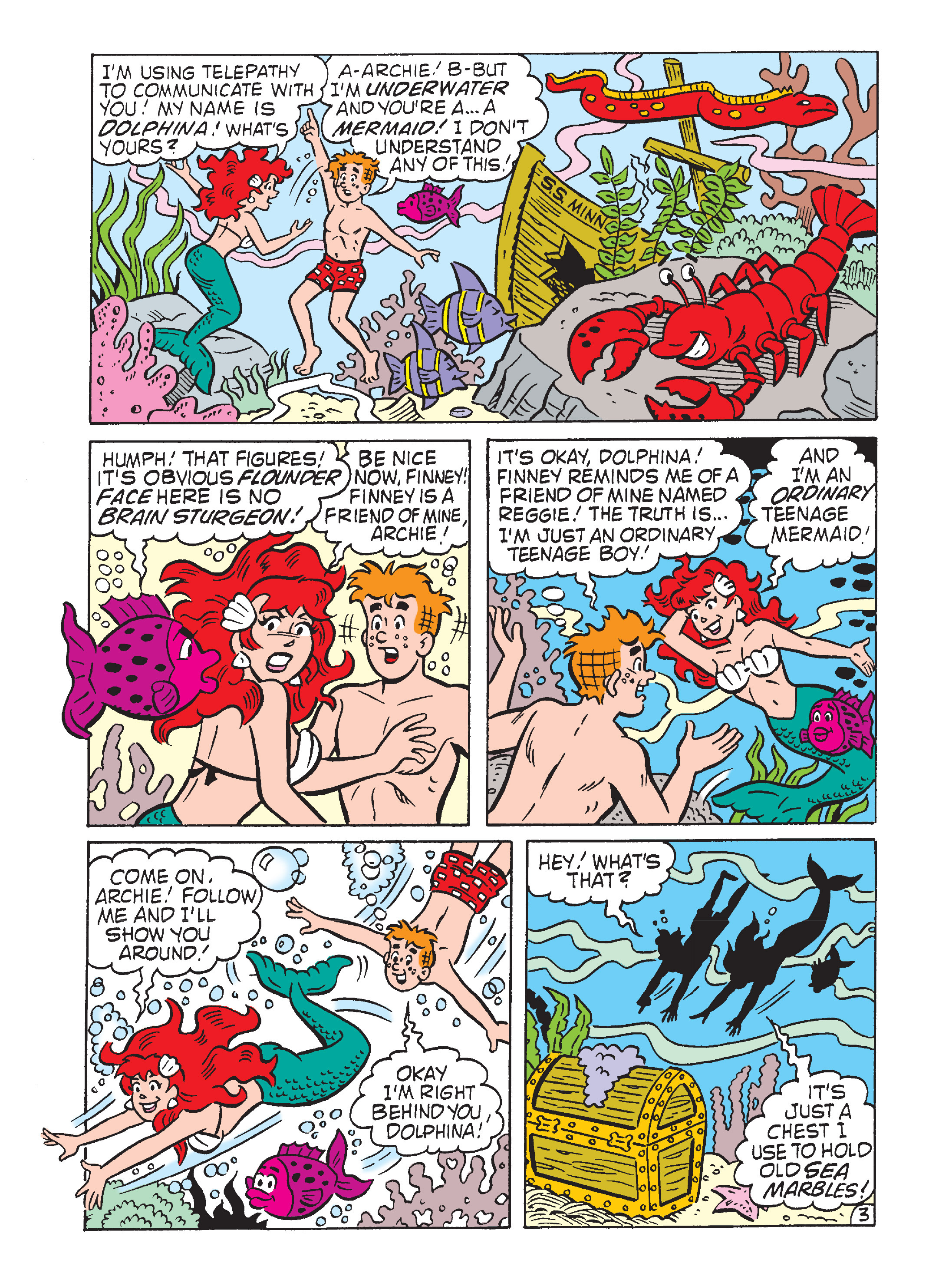 Read online Archie's Funhouse Double Digest comic -  Issue #7 - 4