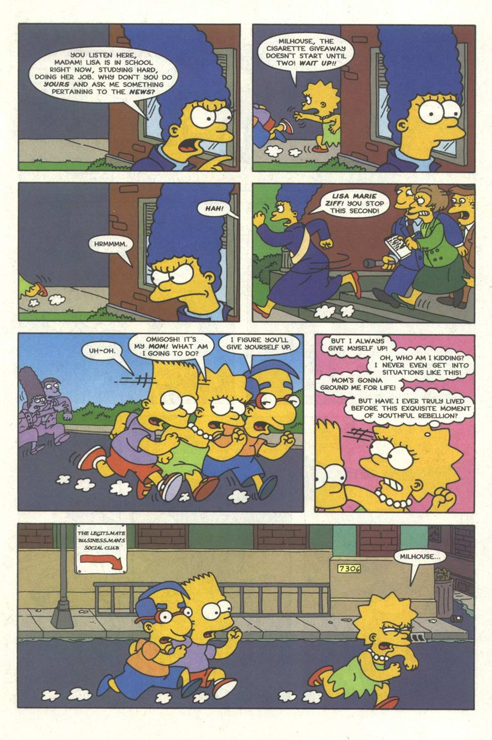 Read online Simpsons Comics comic -  Issue #33 - 12