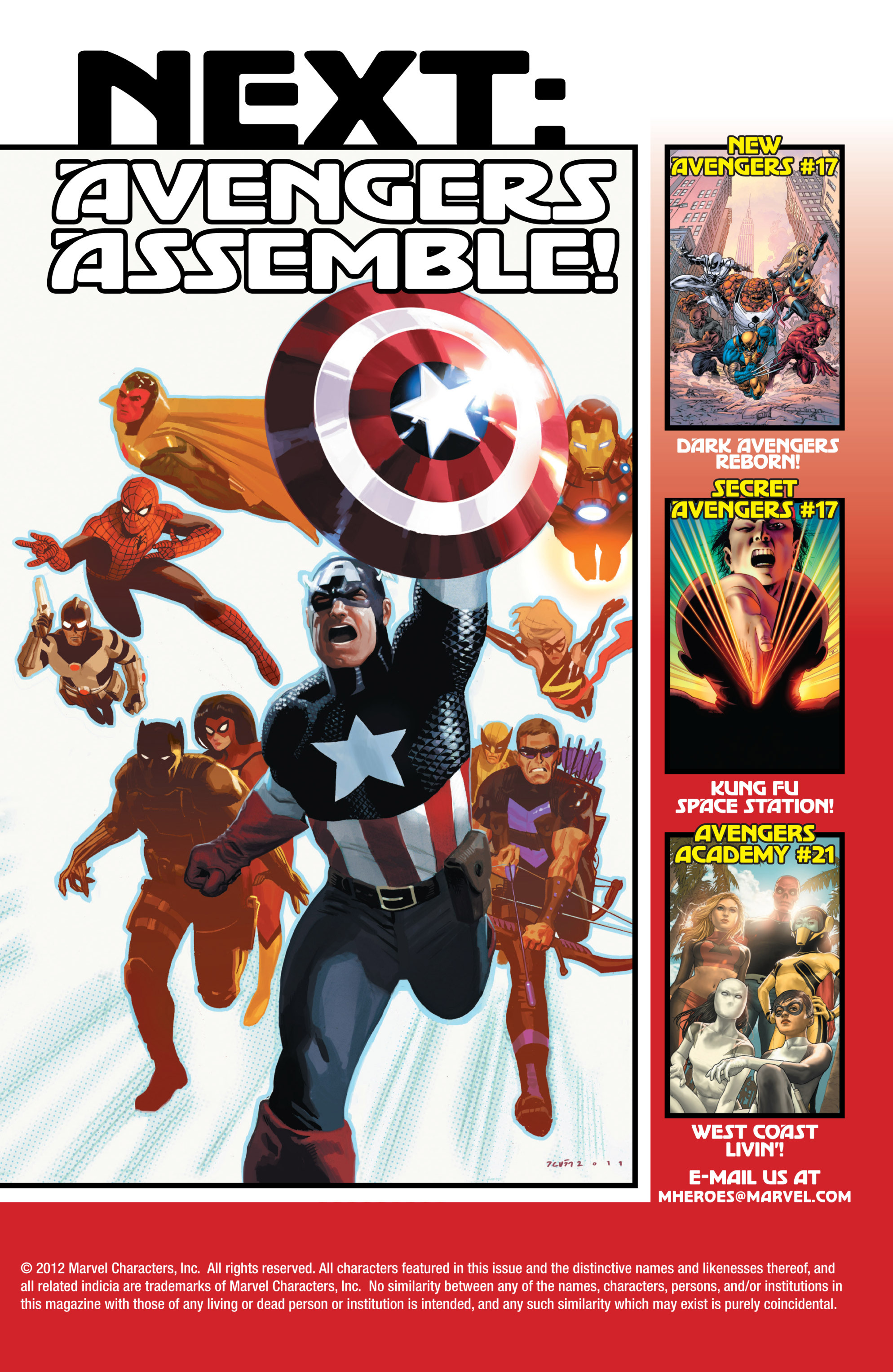 Read online Avengers (2010) comic -  Issue #18 - 17
