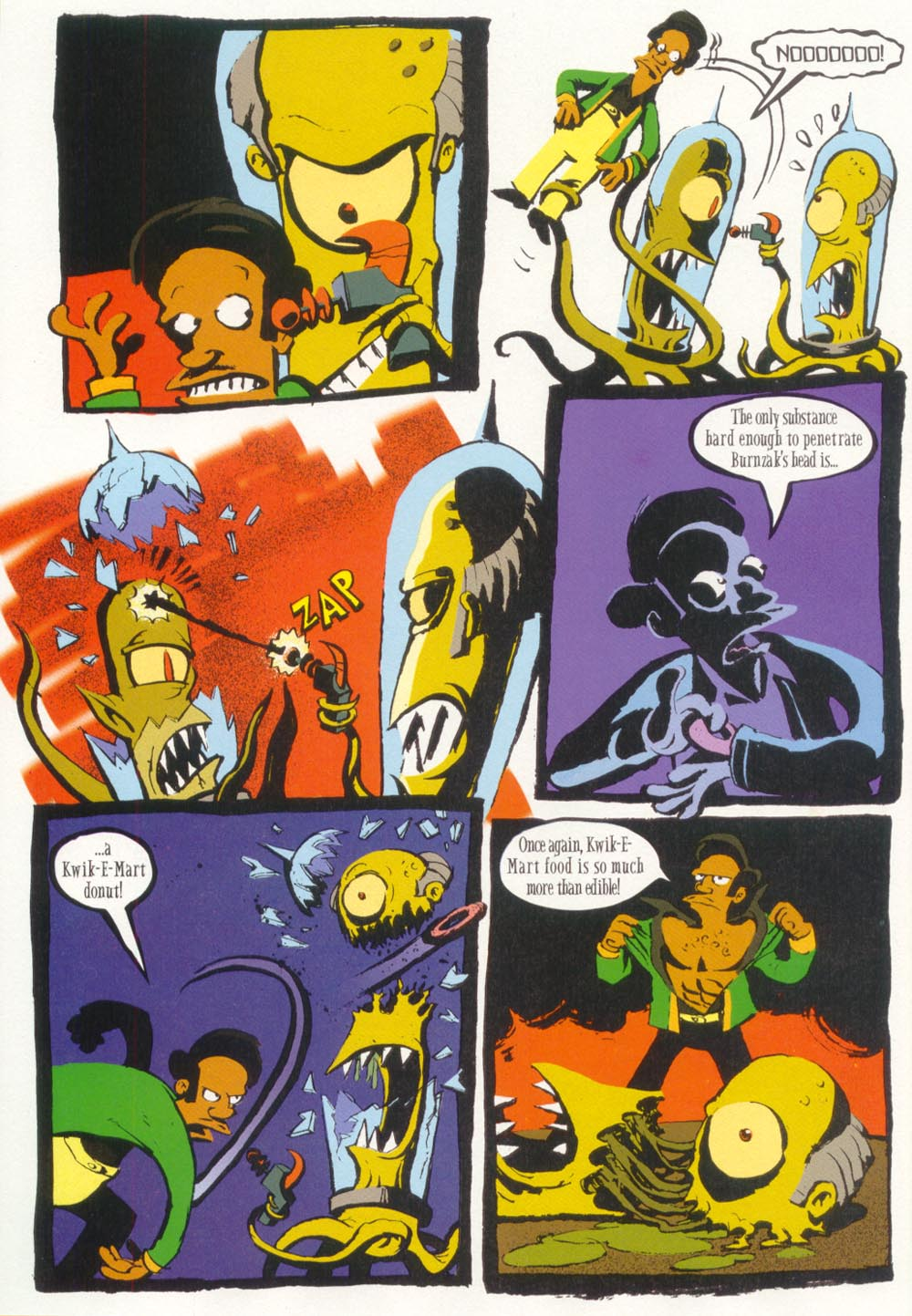 Read online Treehouse of Horror comic -  Issue #5 - 40