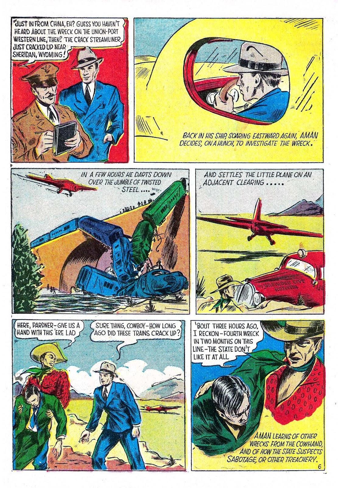Amazing Man Comics issue 5 - Page 8