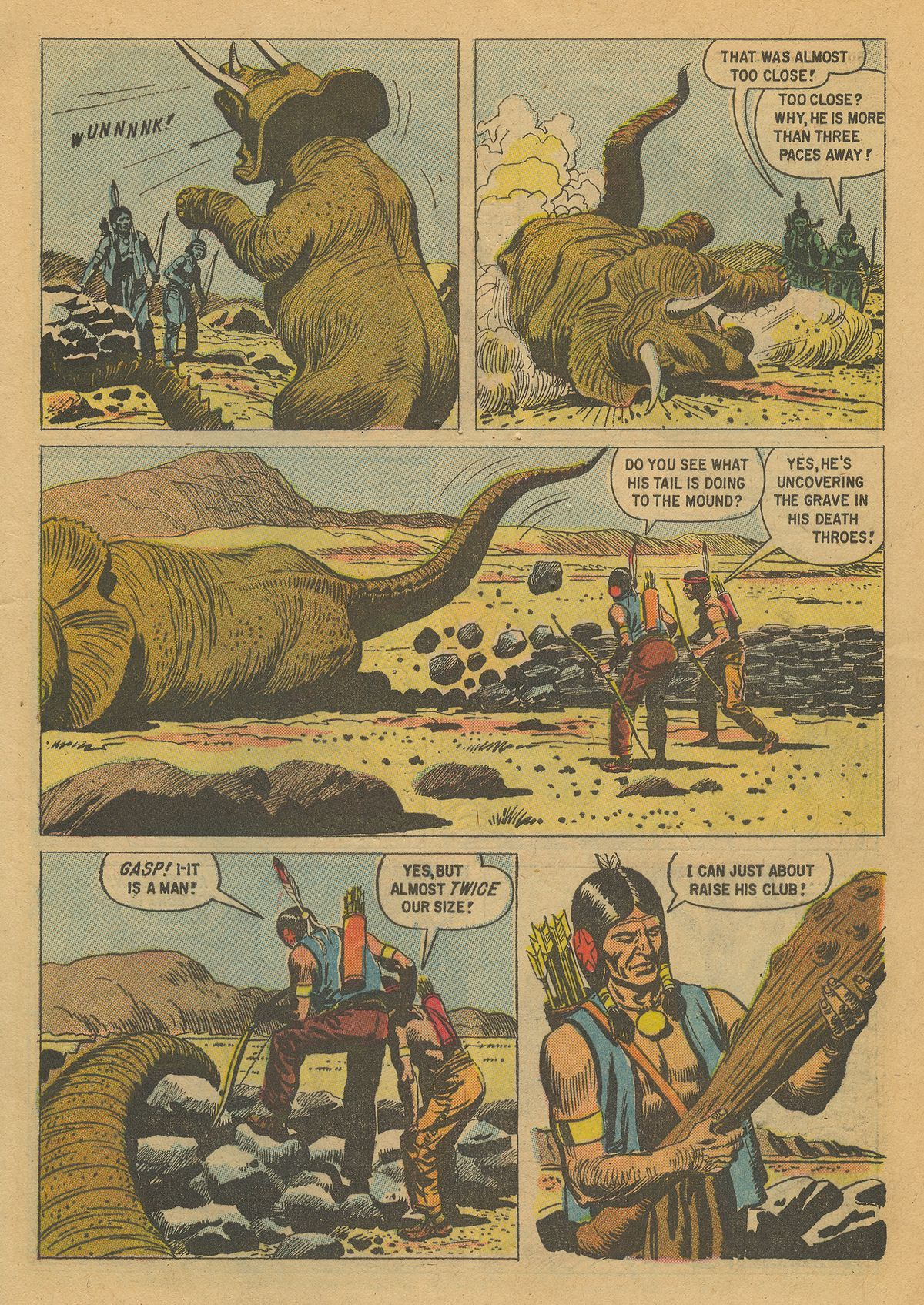 Read online Turok, Son of Stone comic -  Issue #16 - 5