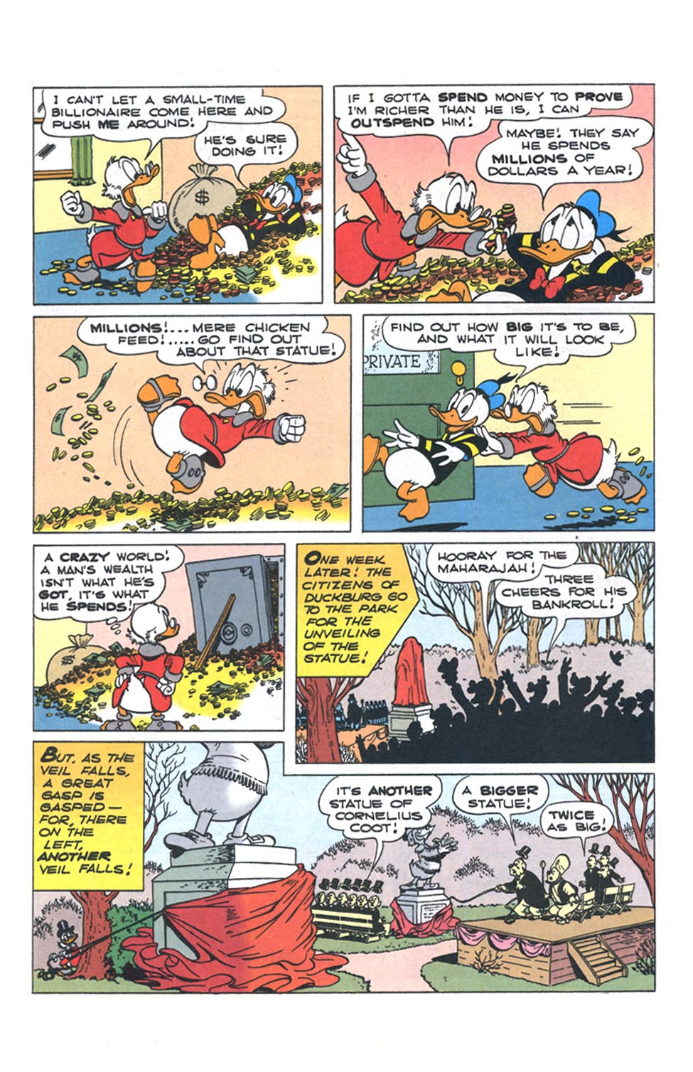 Read online Uncle Scrooge (1953) comic -  Issue #301 - 5