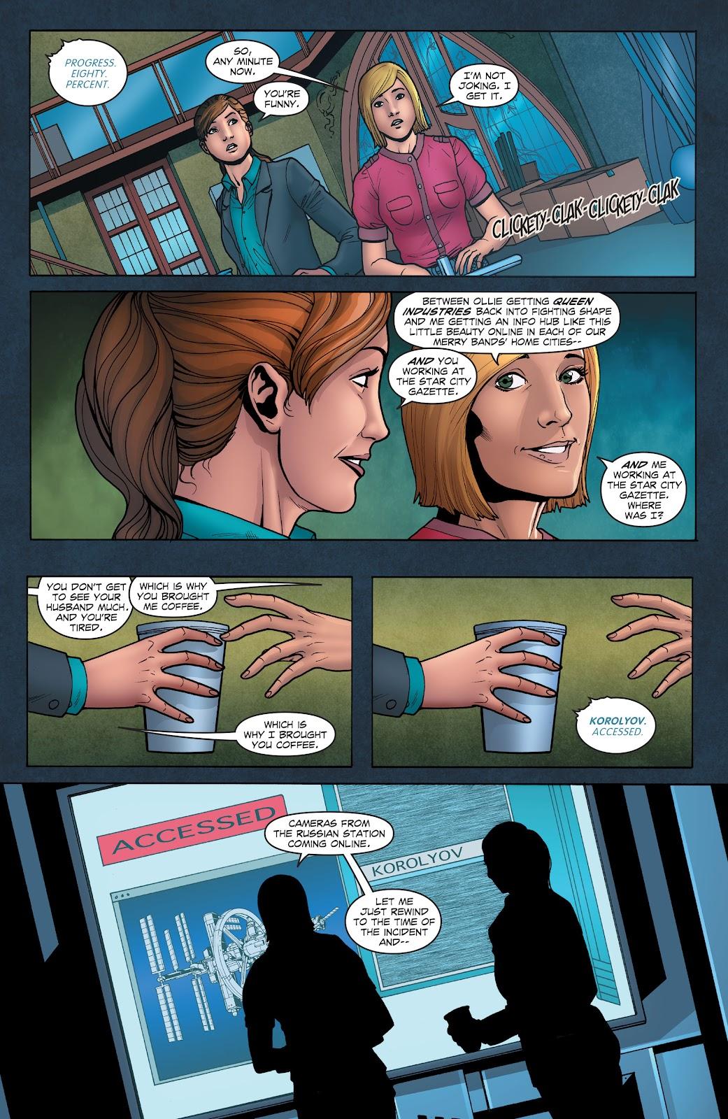 Read online Smallville Season 11 [II] comic -  Issue # TPB 1 - 35