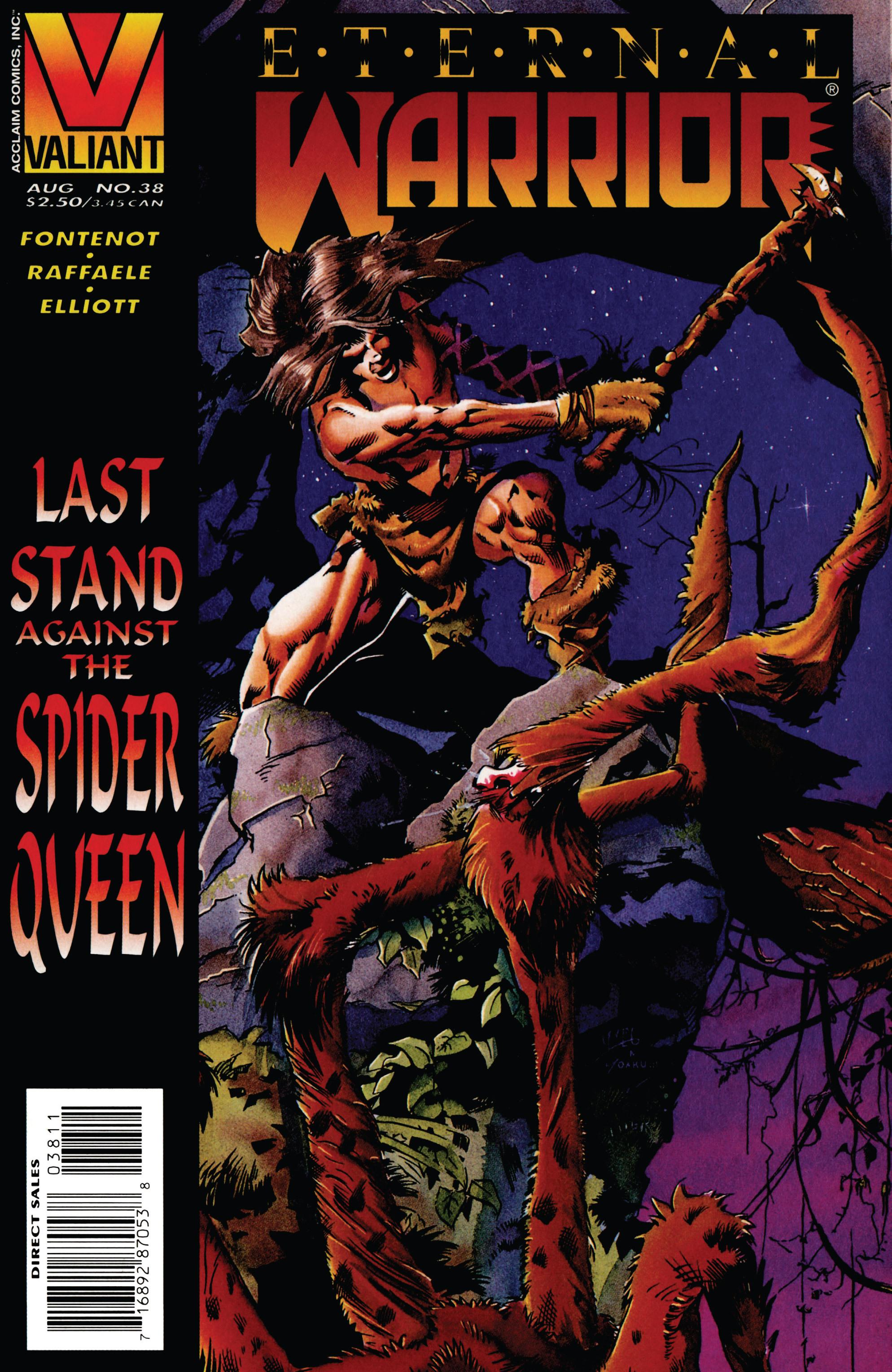 Read online Eternal Warrior (1992) comic -  Issue #38 - 1