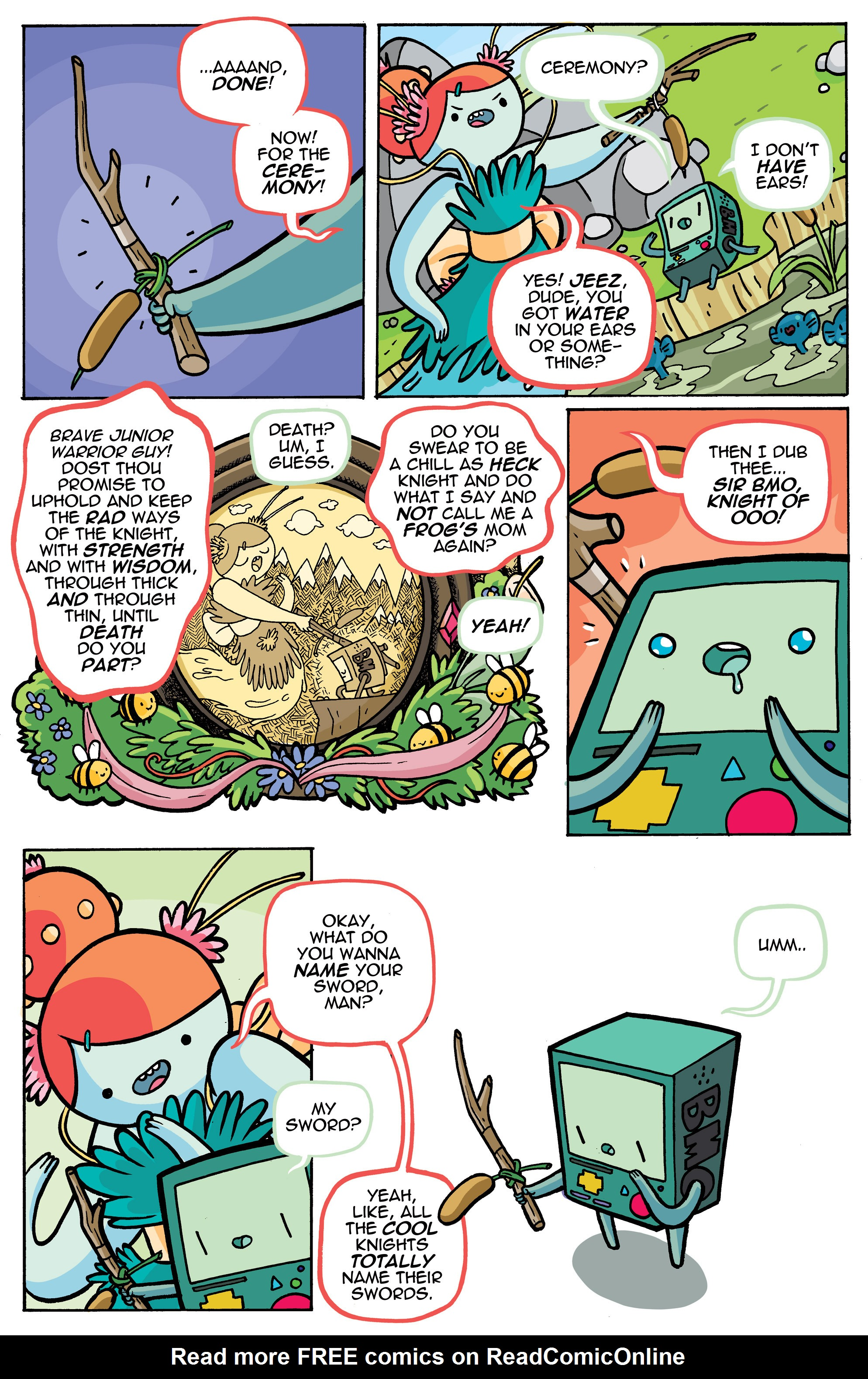 Read online Adventure Time comic -  Issue #42 - 24