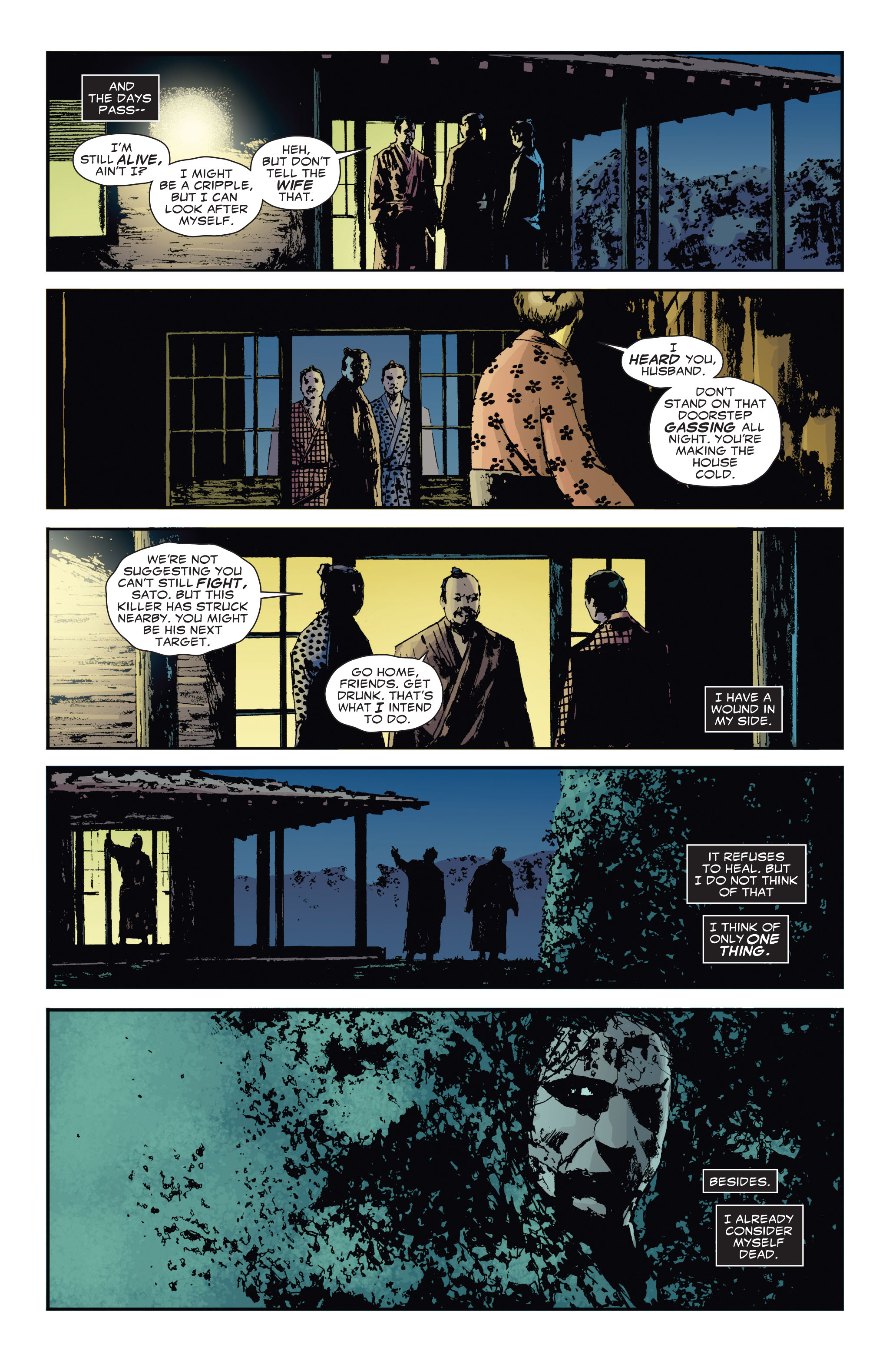 Read online 5 Ronin (2011) comic -  Issue #3 - 14