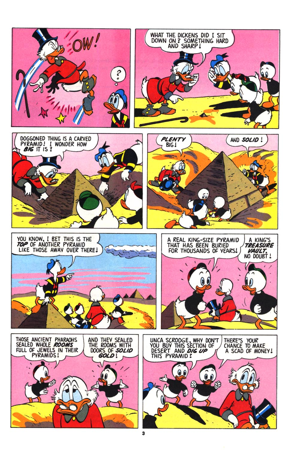 Read online Uncle Scrooge (1953) comic -  Issue #255 - 25