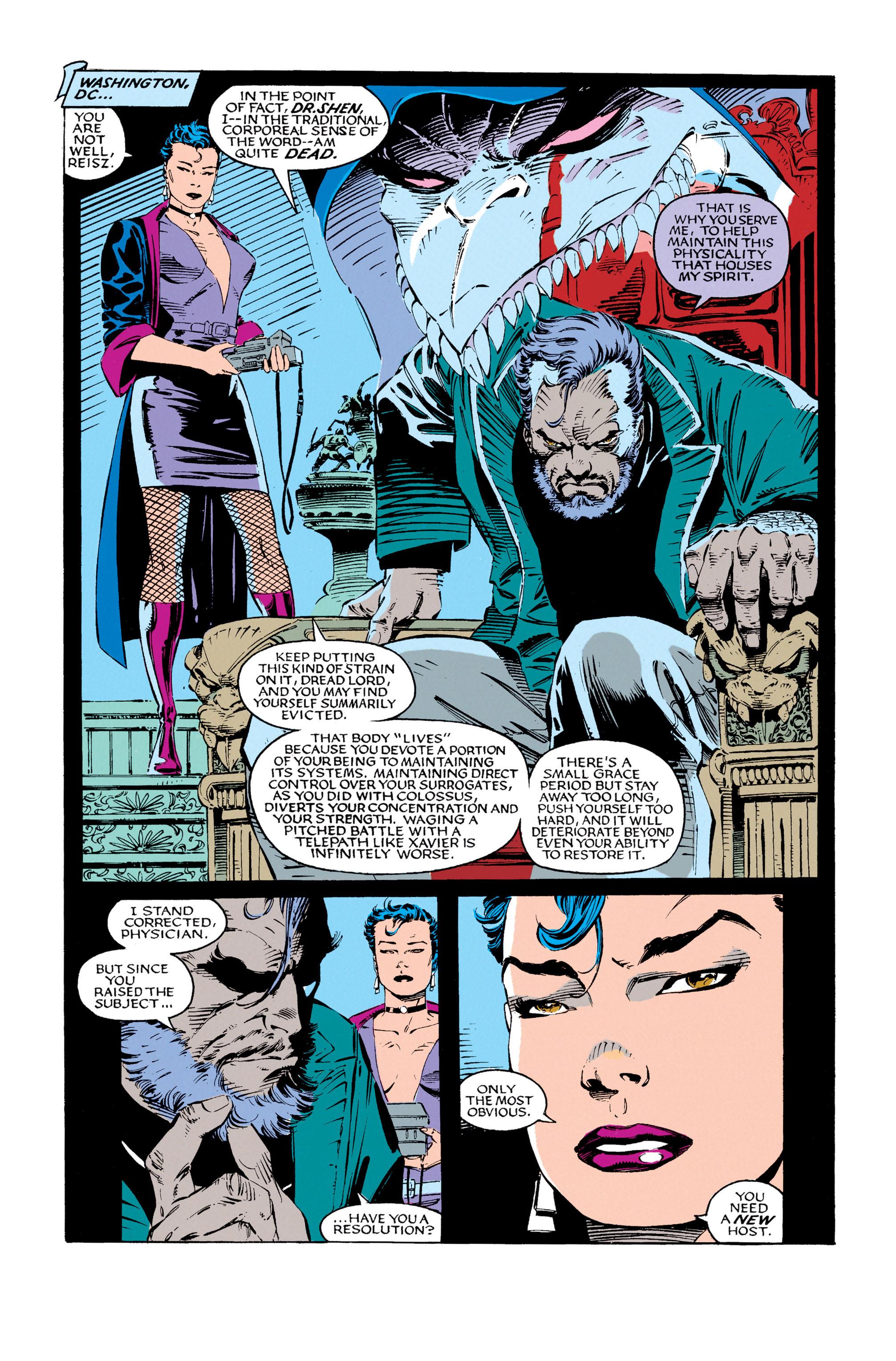 Read online Uncanny X-Men (1963) comic -  Issue #279 - 12