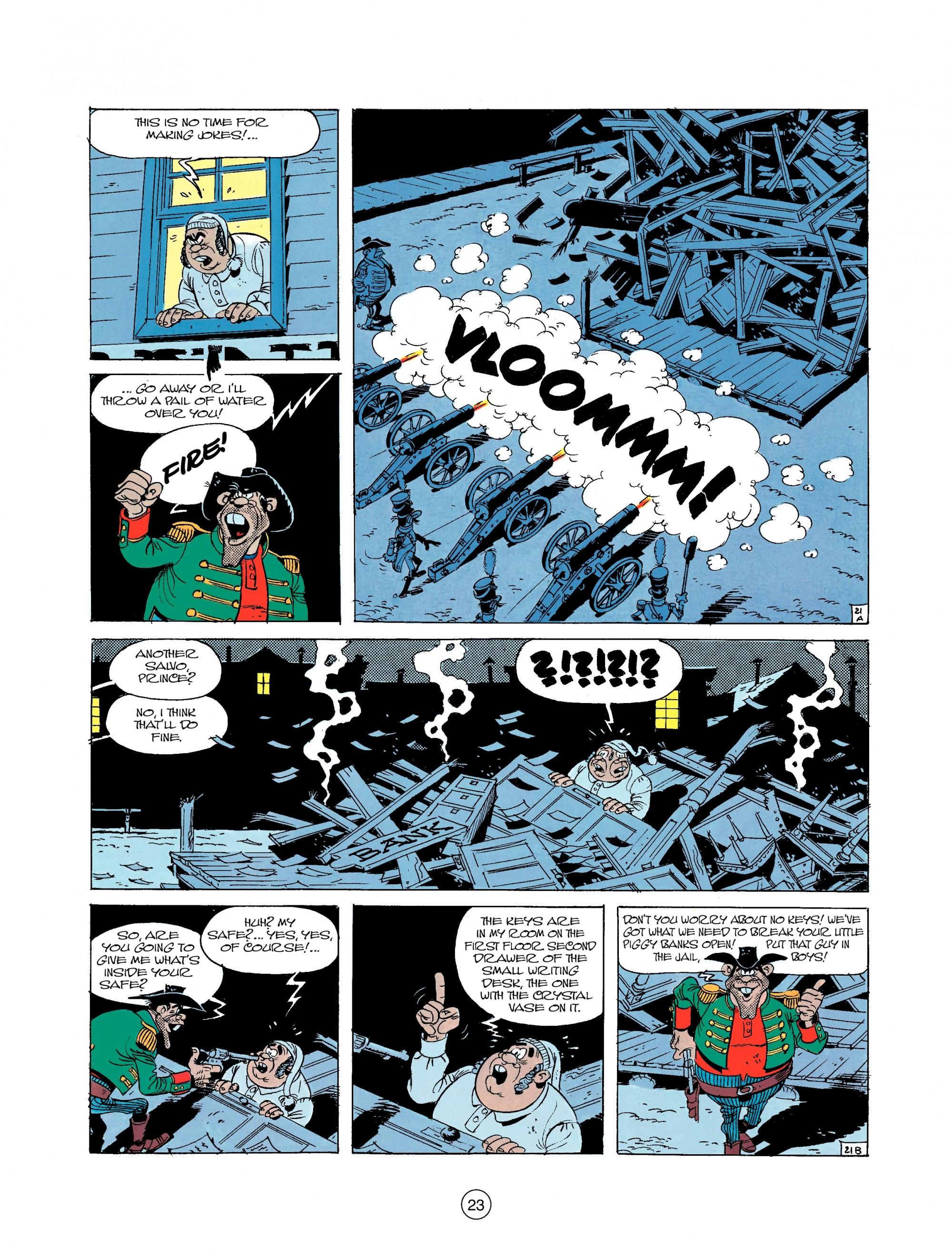 Read online A Lucky Luke Adventure comic -  Issue #22 - 23