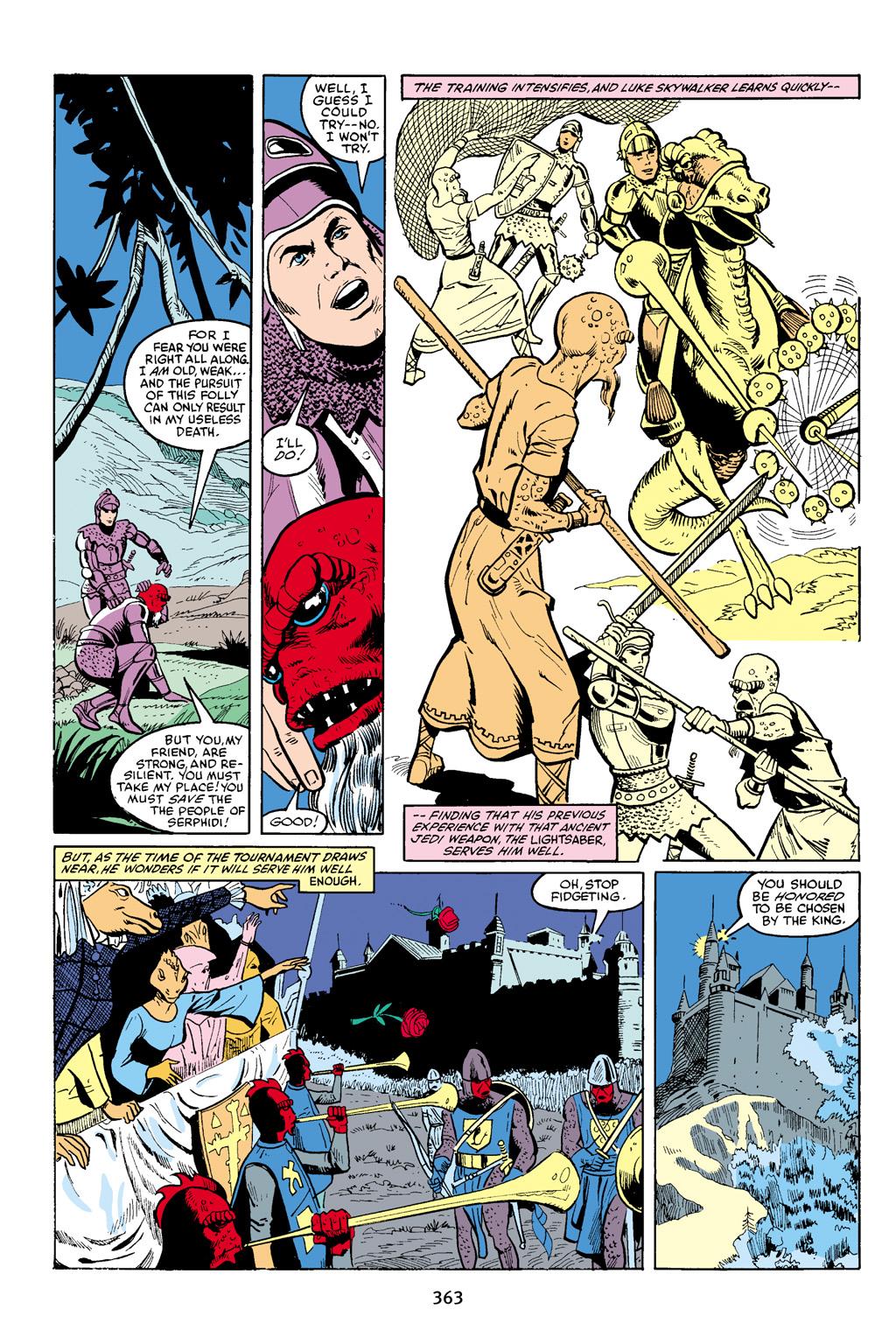 Read online Star Wars Omnibus comic -  Issue # Vol. 16 - 356
