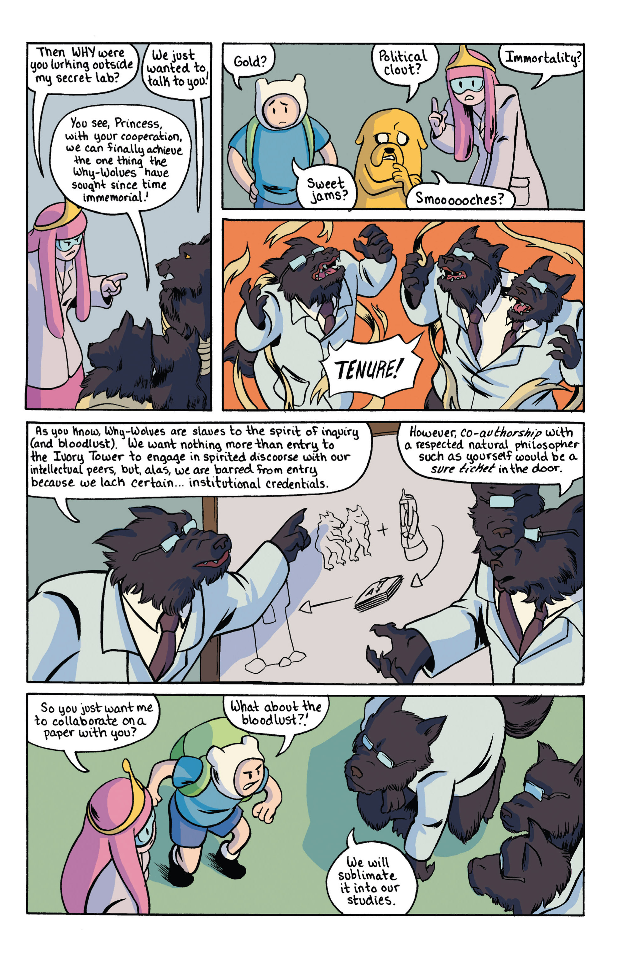 Read online Adventure Time comic -  Issue #18 - 25