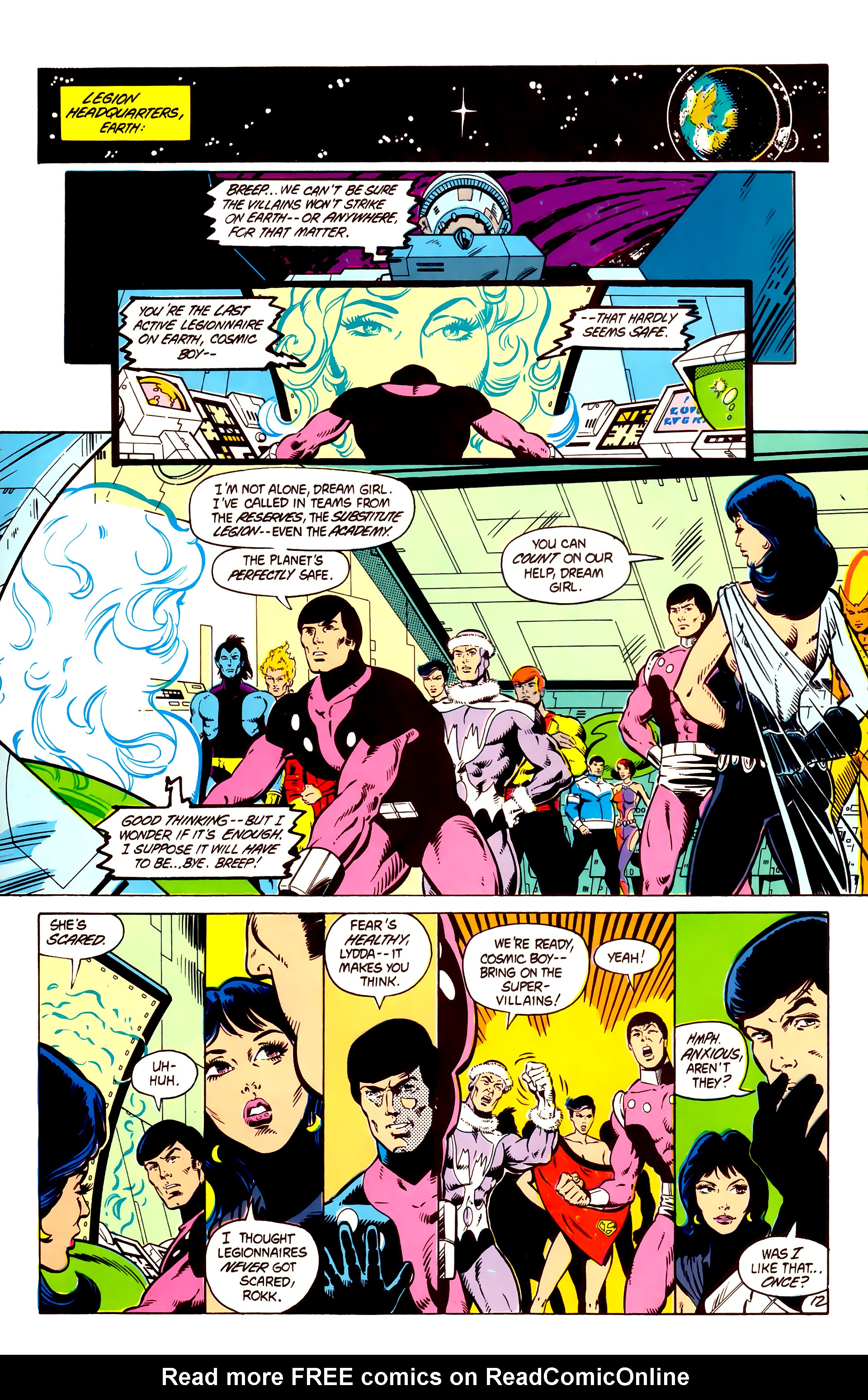 Legion of Super-Heroes (1984) 4 Page 13
