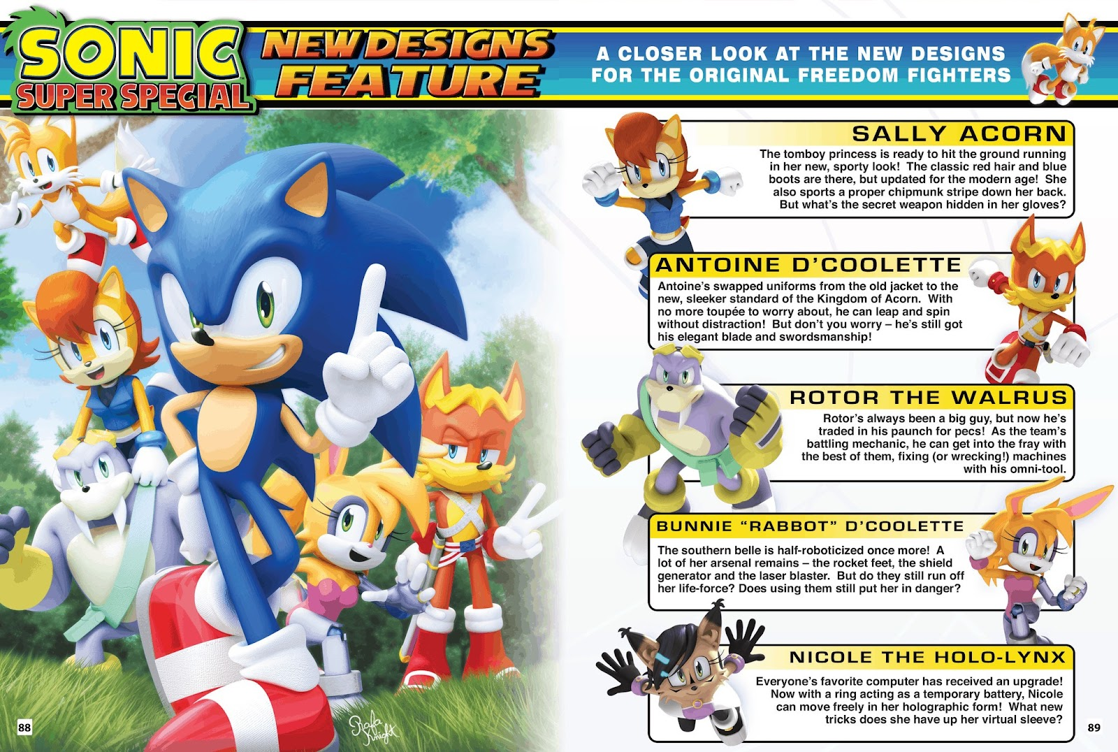 Comic Sonic Super Special Magazine issue 1