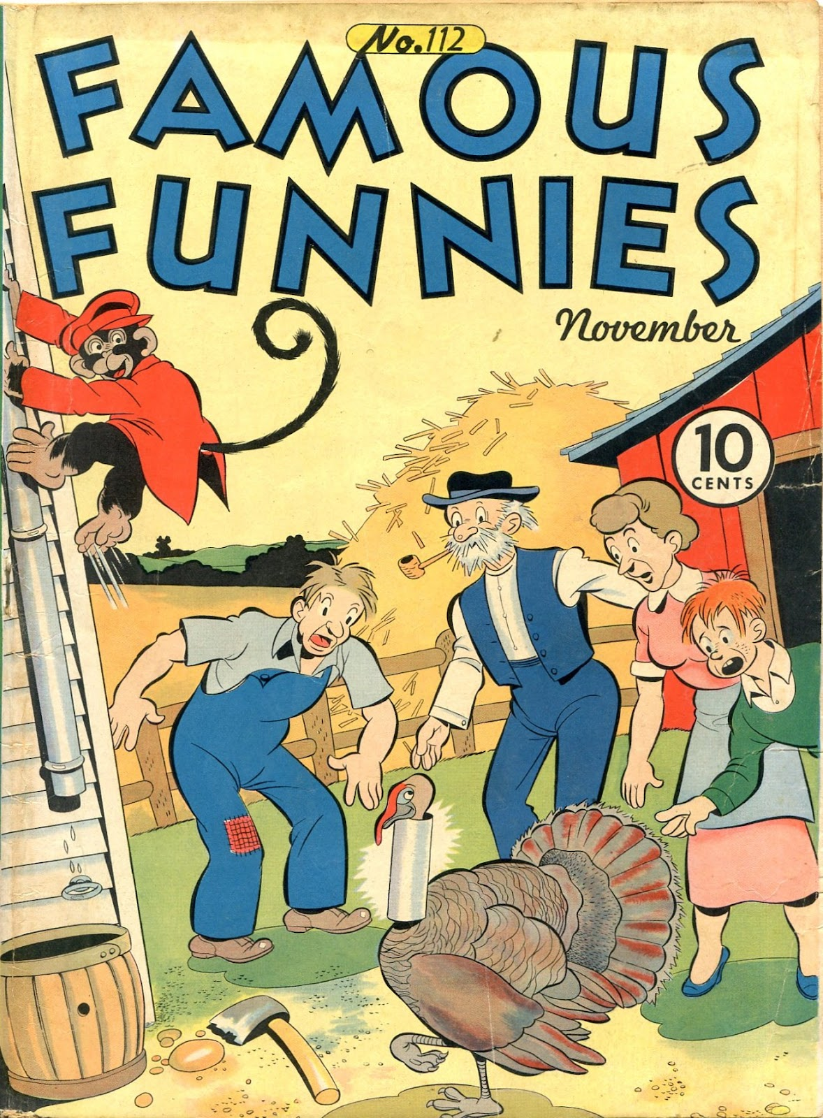Read online Famous Funnies comic -  Issue #112 - 1