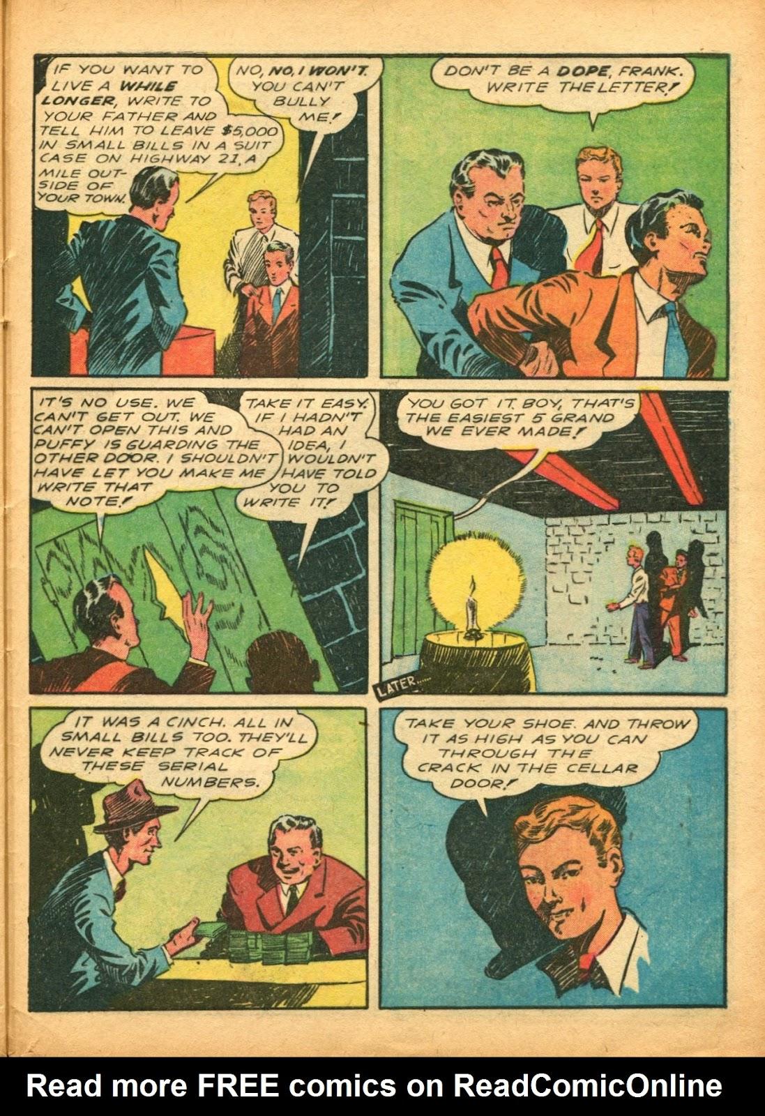 Read online Super-Magician Comics comic -  Issue #5 - 54