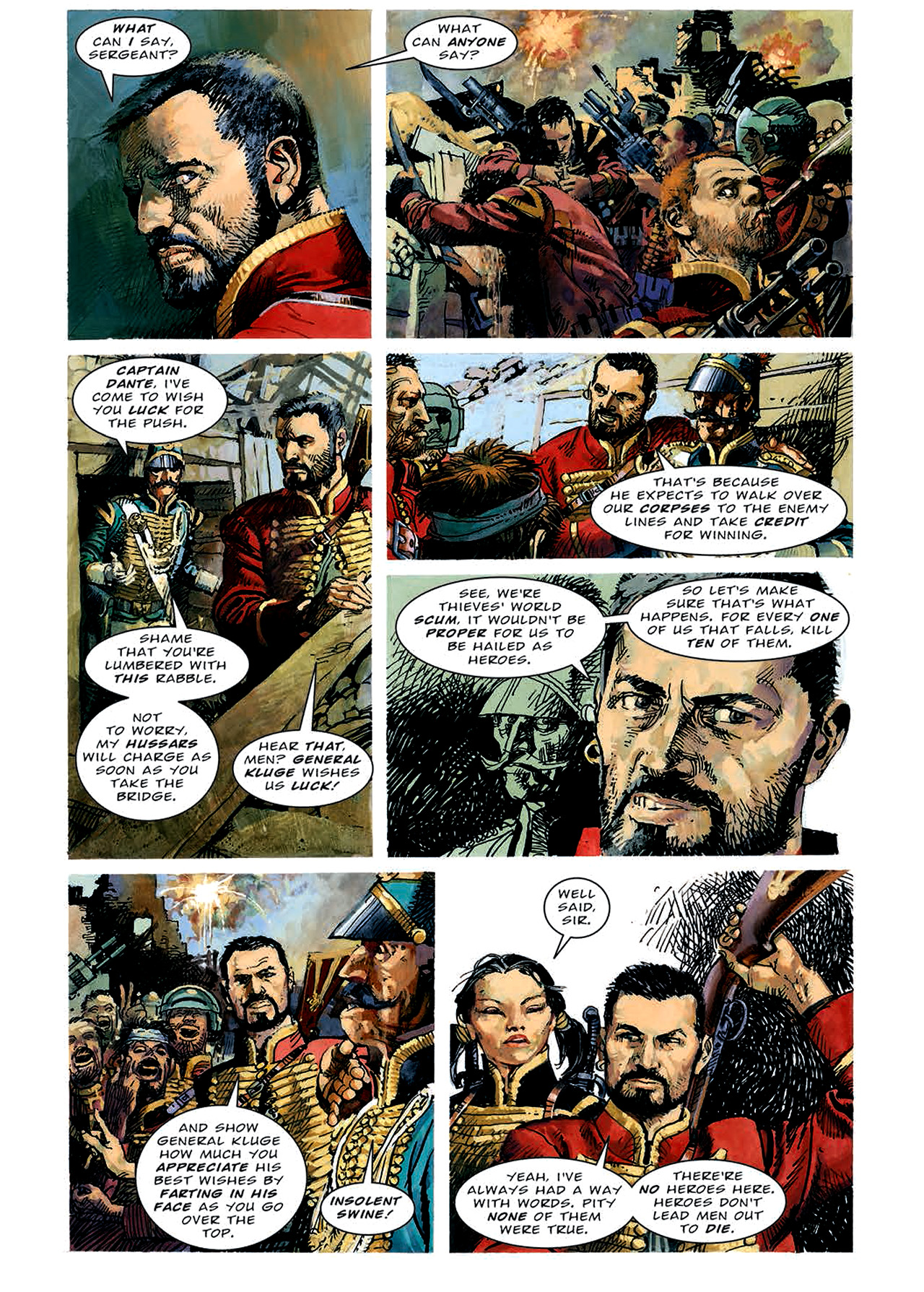 Read online Nikolai Dante comic -  Issue # TPB 4 - 66
