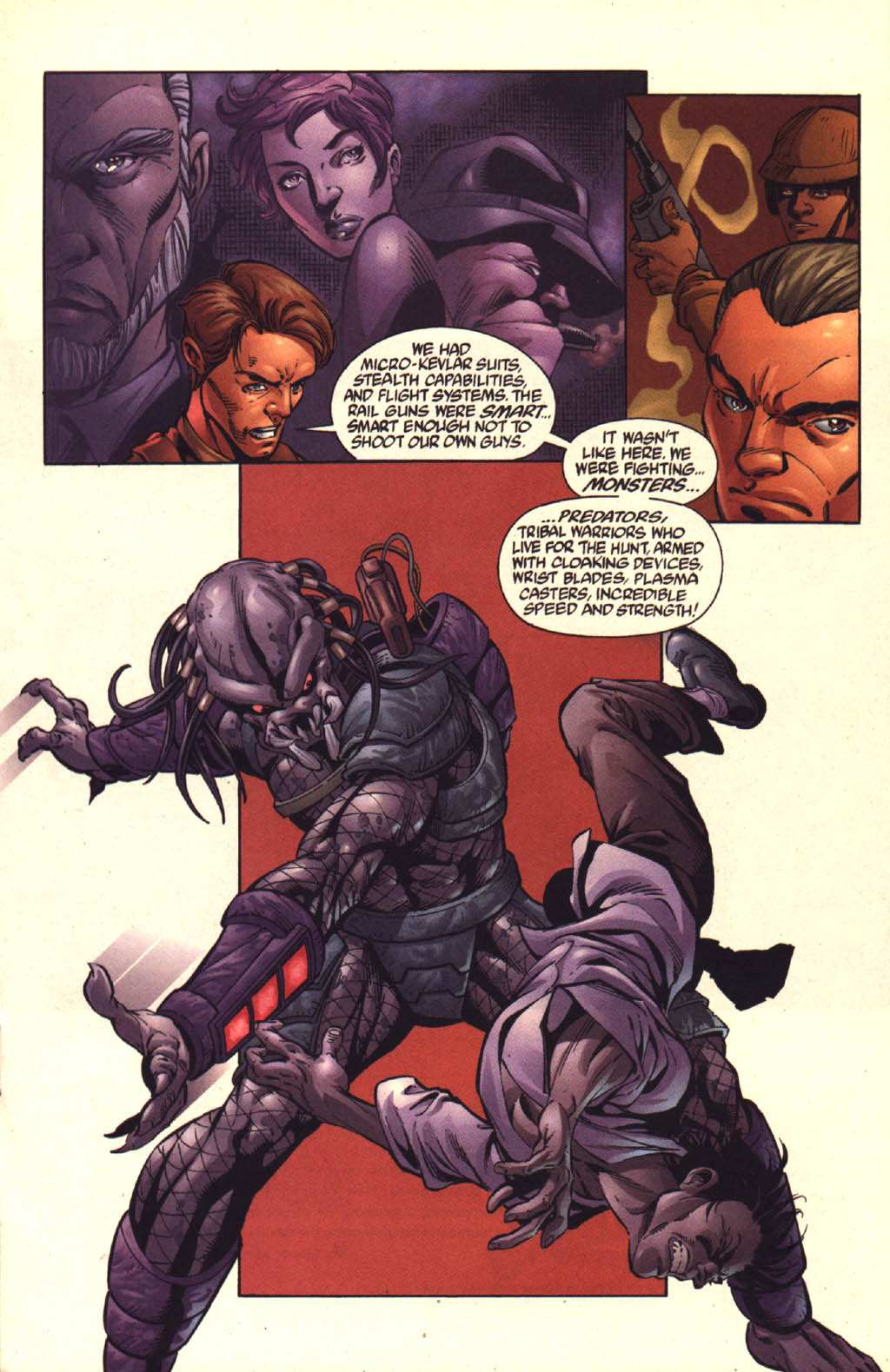 Read online Aliens vs. Predator: Xenogenesis comic -  Issue #3 - 14