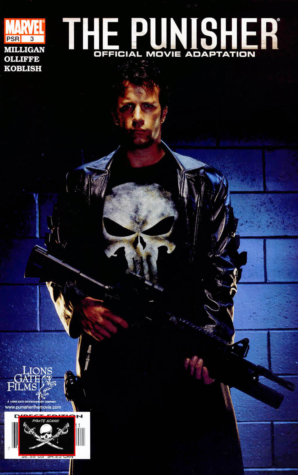 The Punisher: Official Movie Adaptation 3 Page 1