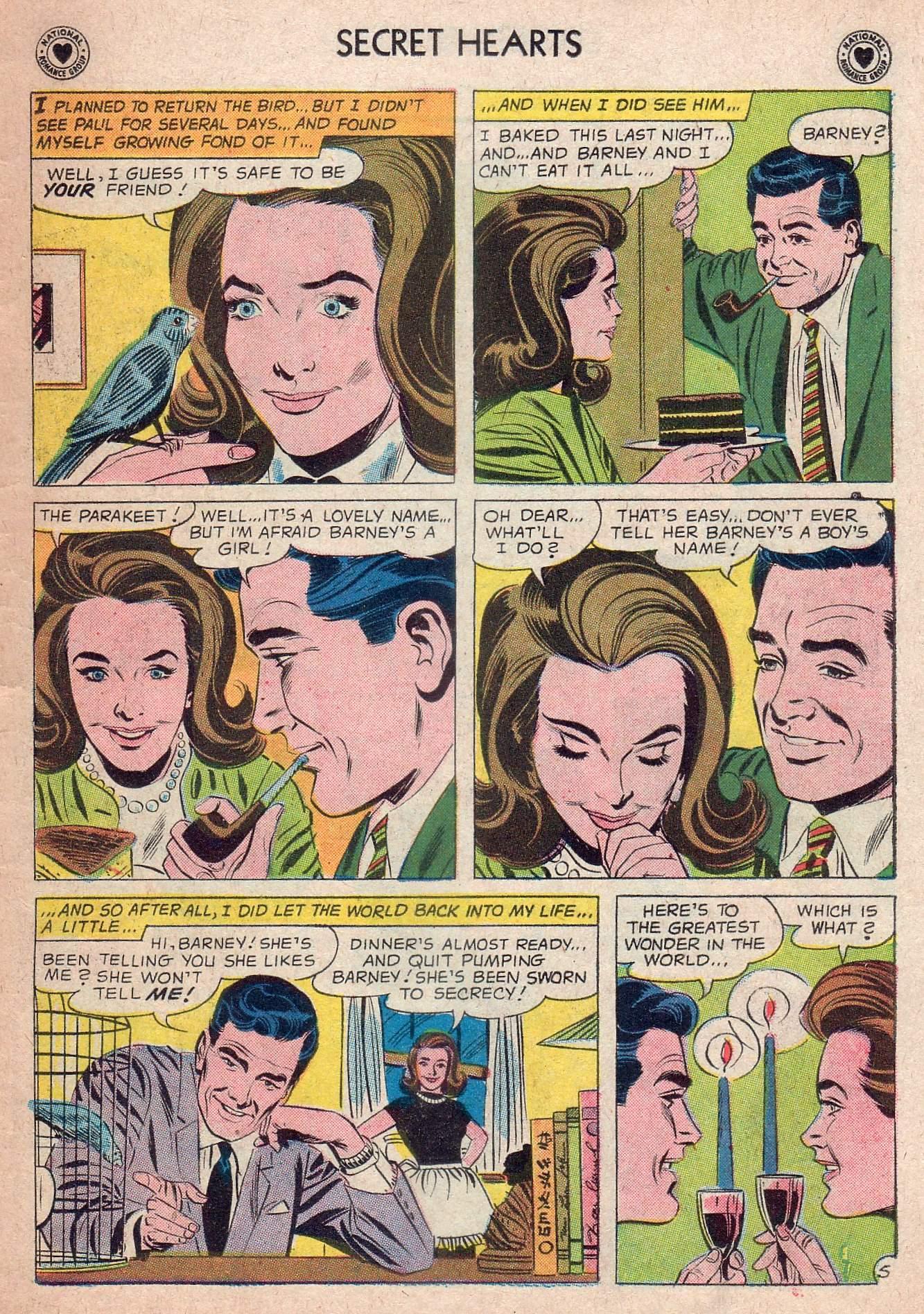 Read online Secret Hearts comic -  Issue #73 - 7