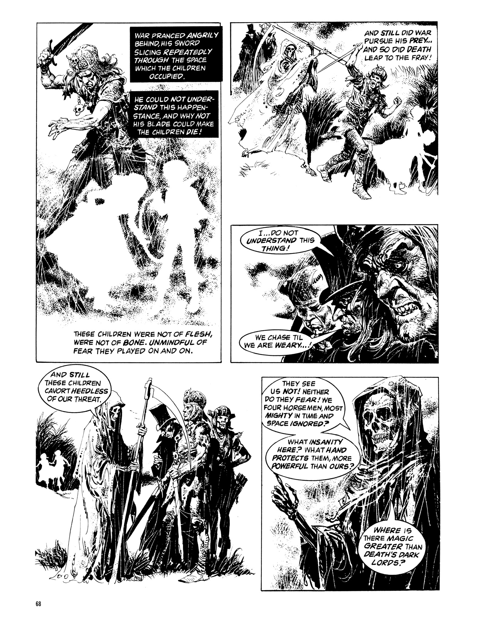 Read online Eerie Archives comic -  Issue # TPB 14 - 69