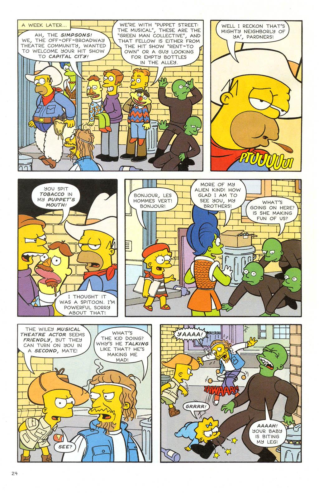 Read online Simpsons Comics comic -  Issue #106 - 25