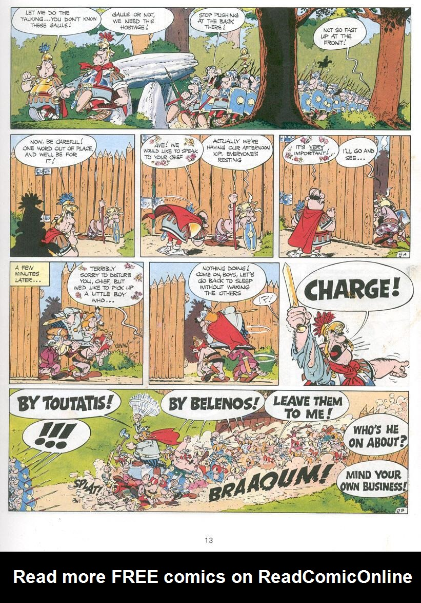 Read online Asterix comic -  Issue #14 - 10