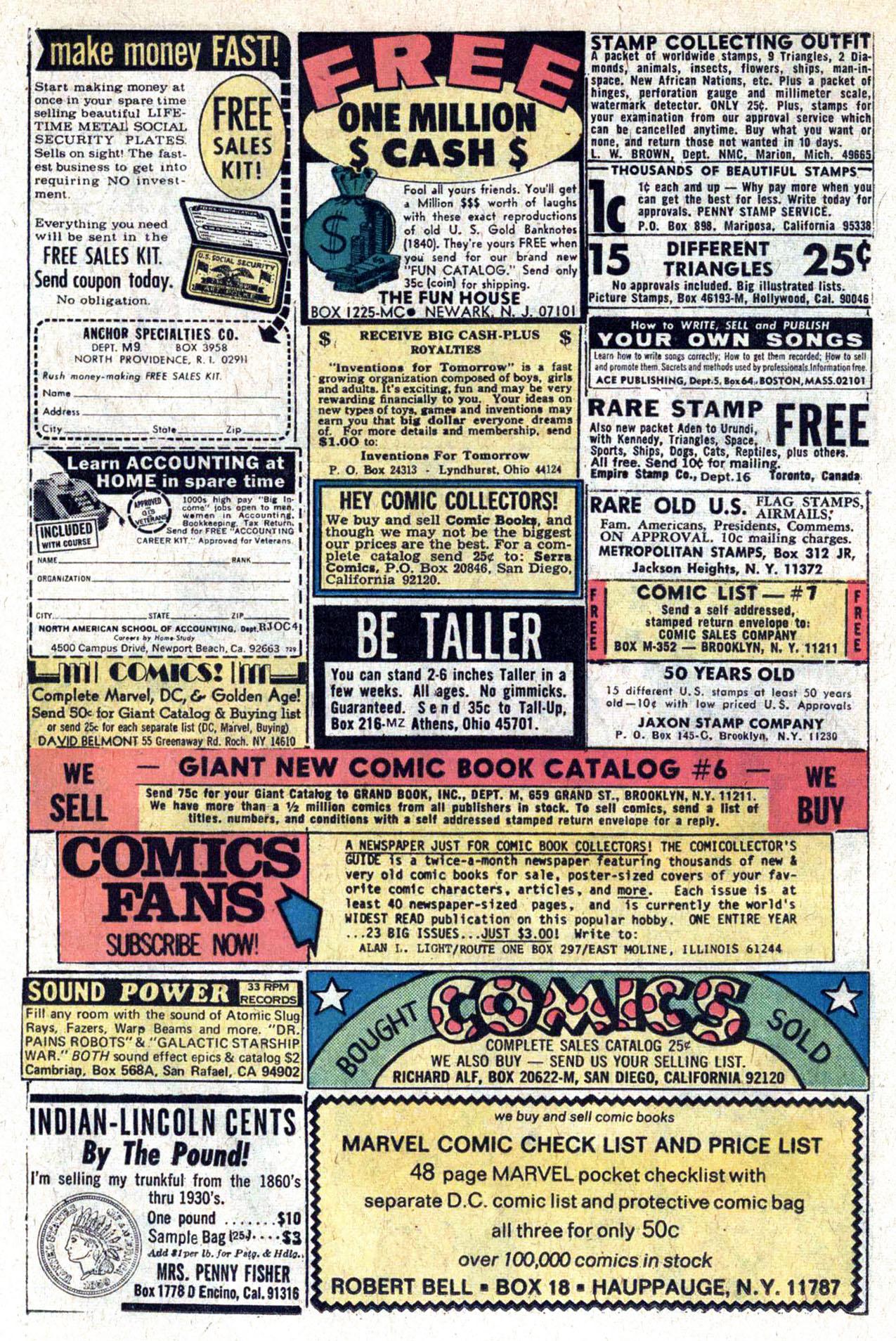 Read online Amazing Adventures (1970) comic -  Issue #29 - 26