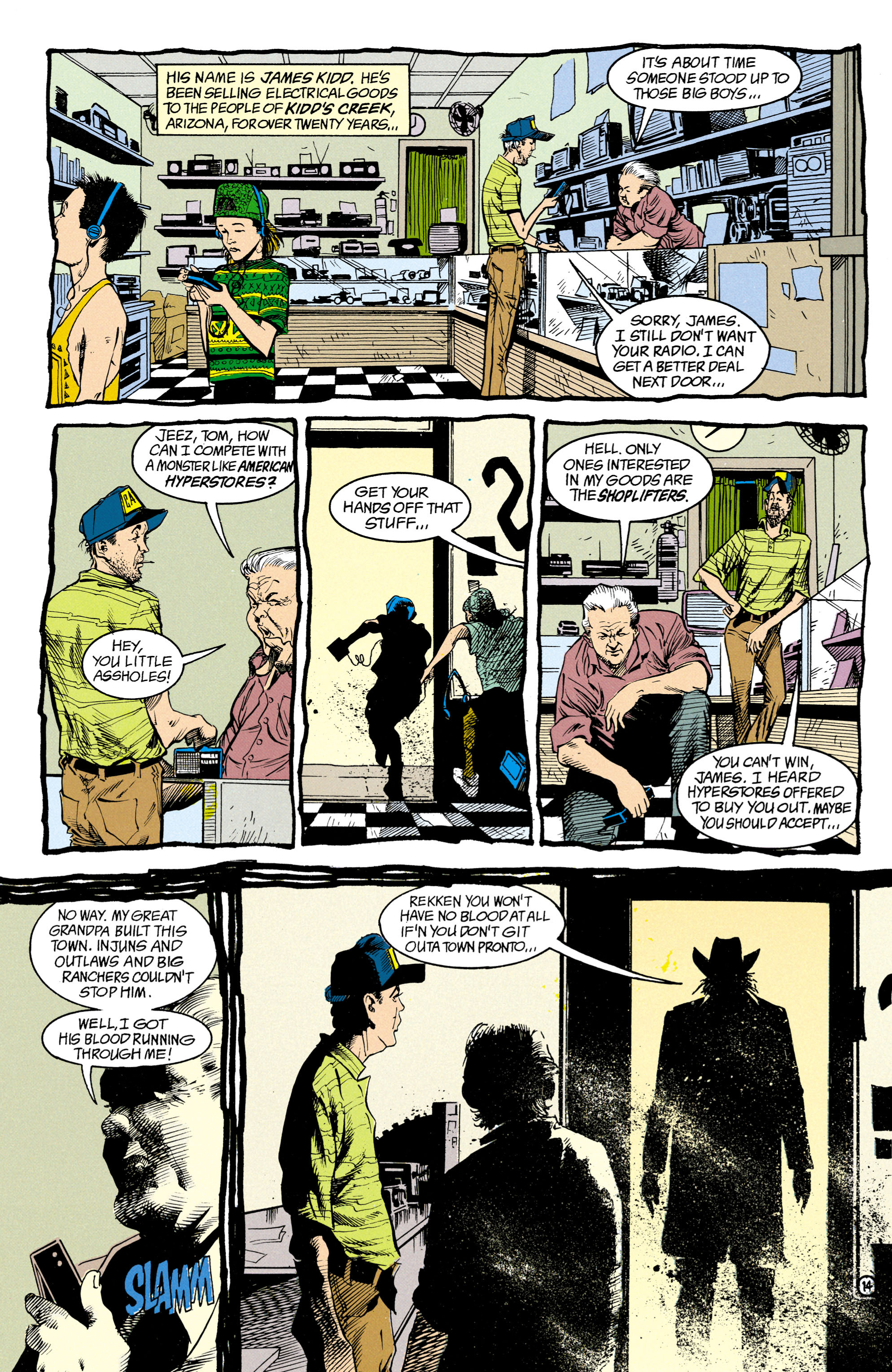 Read online Shade, the Changing Man comic -  Issue #15 - 10