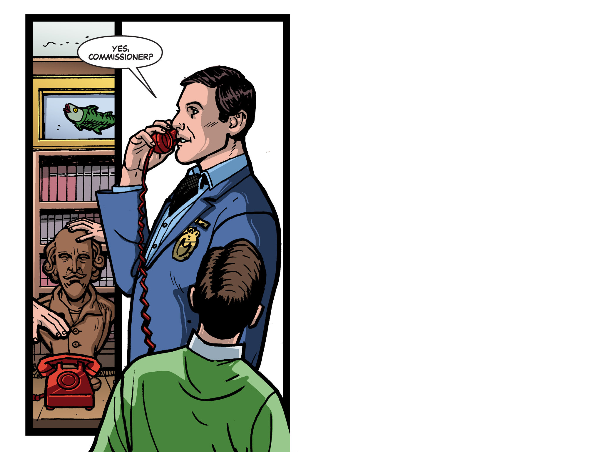 Read online Batman '66 Meets the Green Hornet [II] comic -  Issue #1 - 19