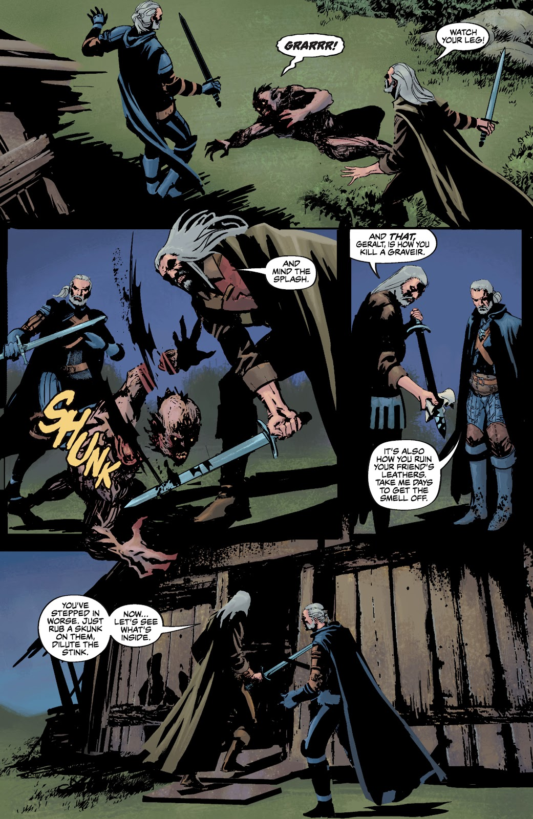 Read online The Witcher Omnibus comic -  Issue # TPB (Part 3) - 69