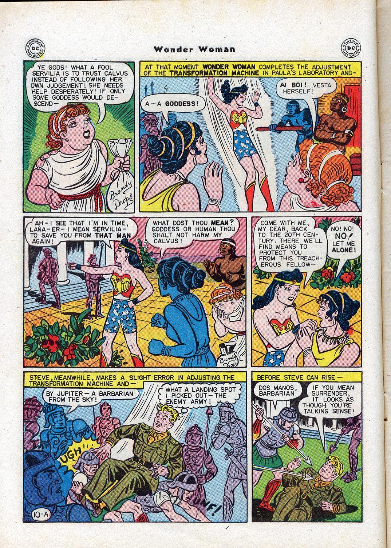 Read online Wonder Woman (1942) comic -  Issue #17 - 12