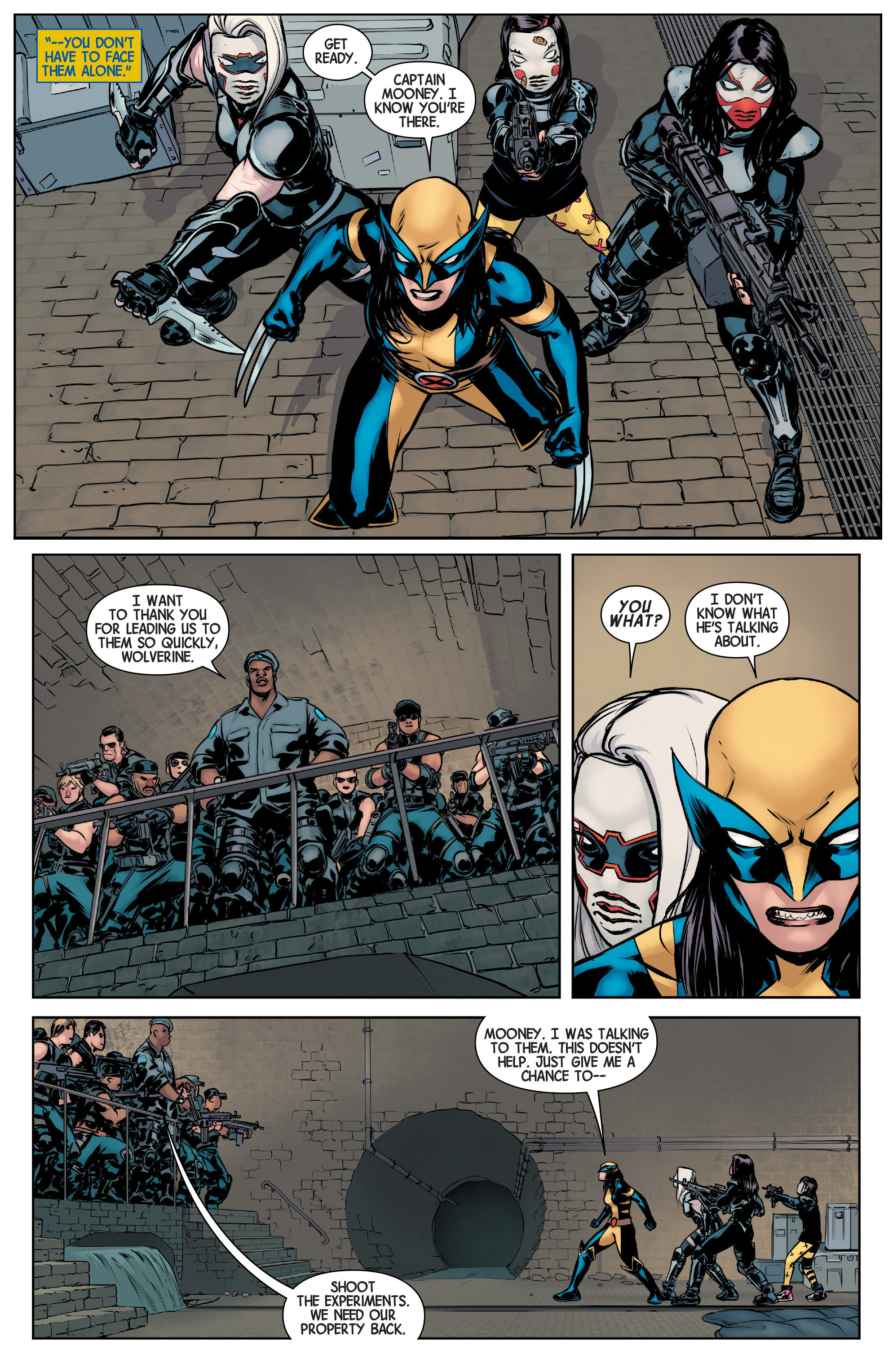 Read online All-New Wolverine (2016) comic -  Issue #2 - 18