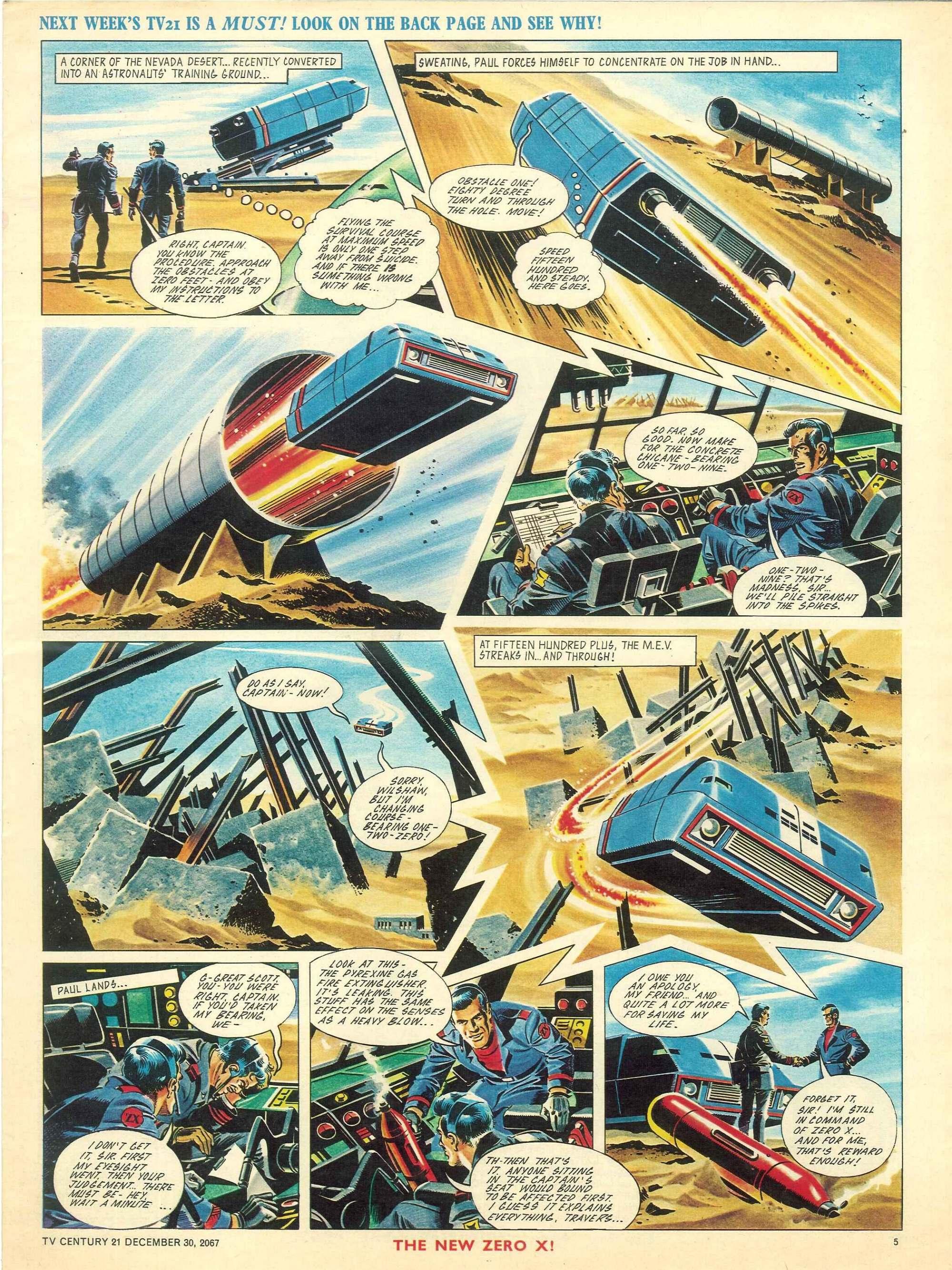 Read online TV Century 21 (TV 21) comic -  Issue #154 - 5