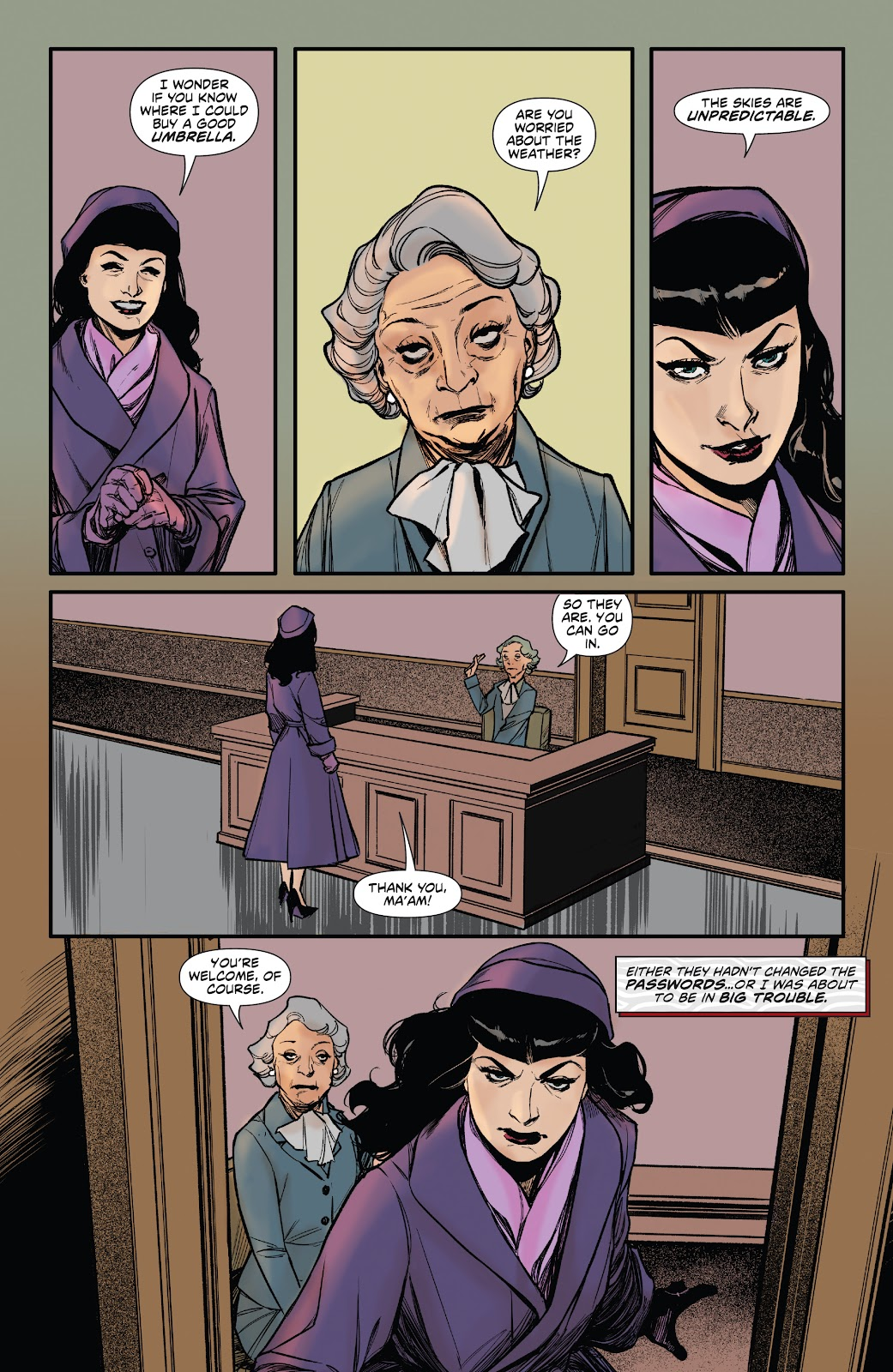 Read online Bettie Page: Unbound comic -  Issue #6 - 19