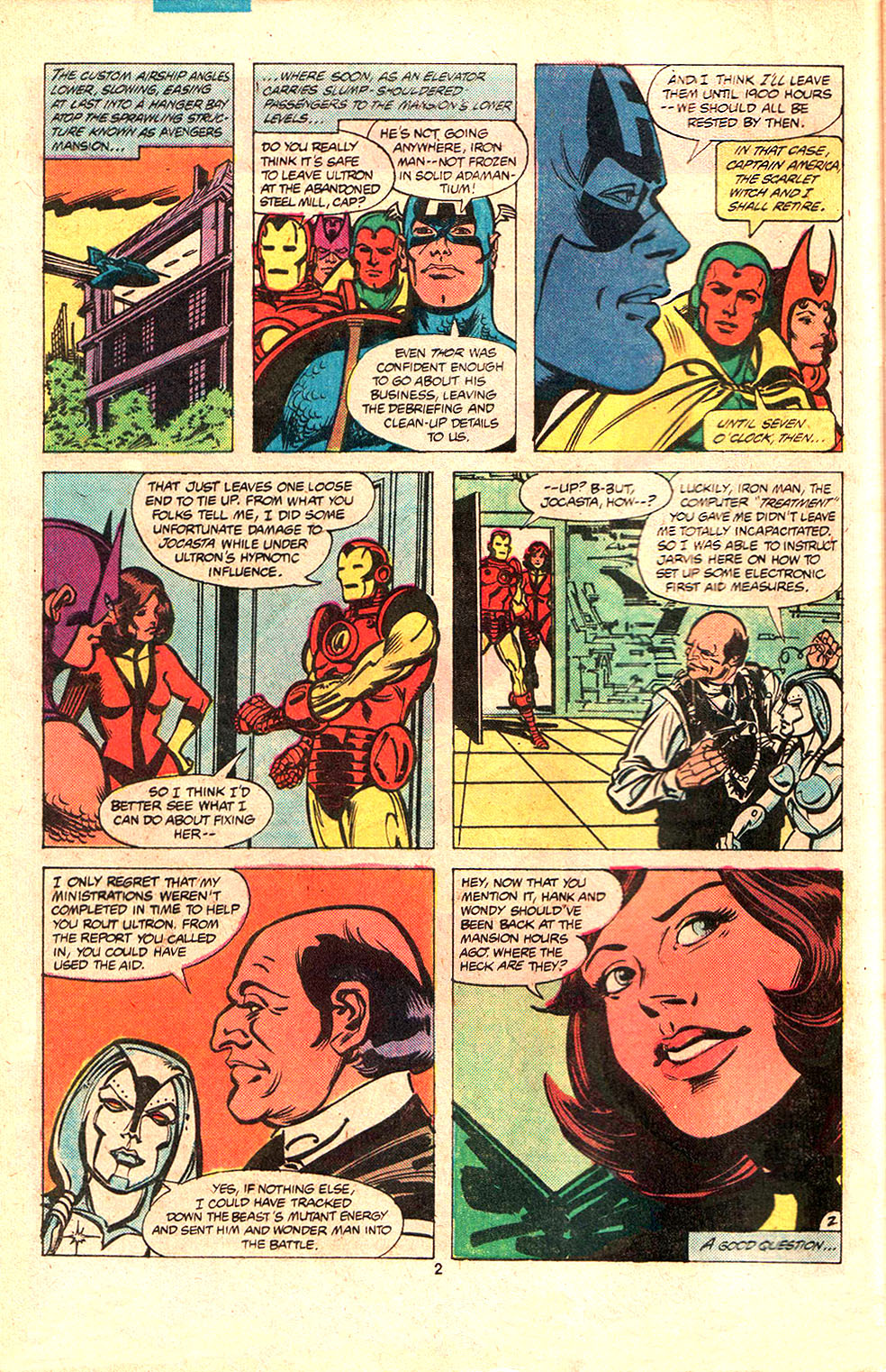 The Avengers (1963) 203 Page 2