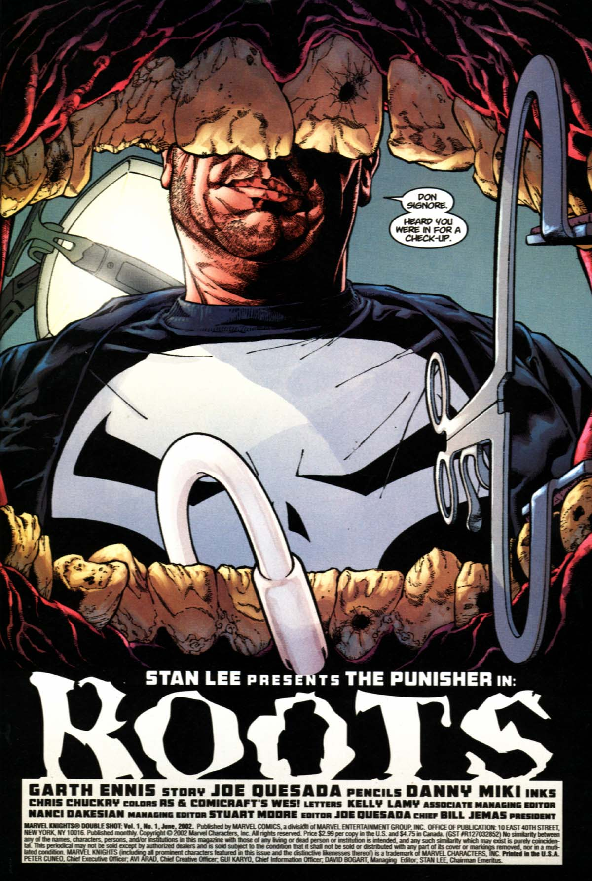 Read online Marvel Knights Double Shot comic -  Issue #1 - 4