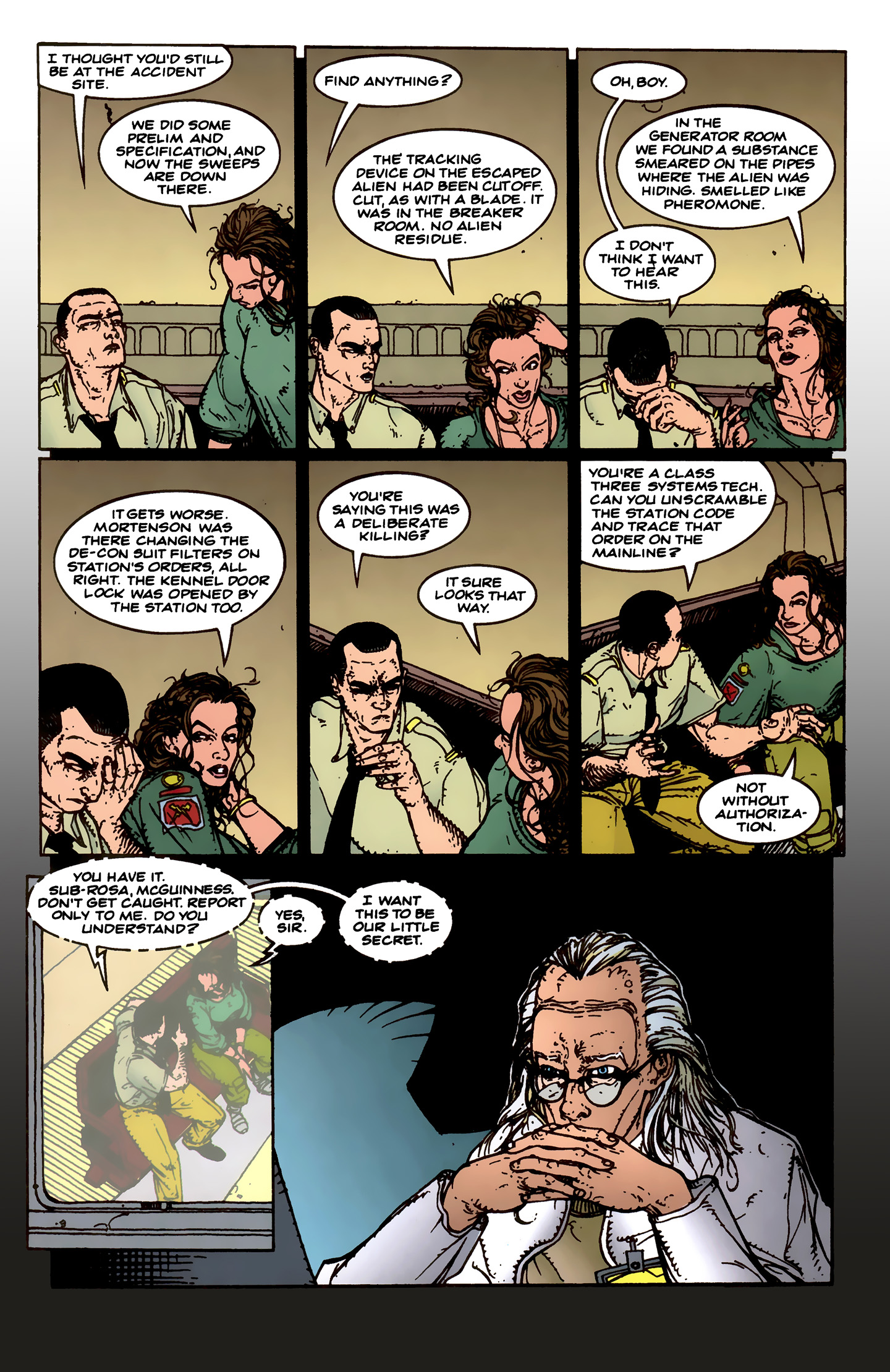 Read online Aliens: Labyrinth comic -  Issue #1 - 26